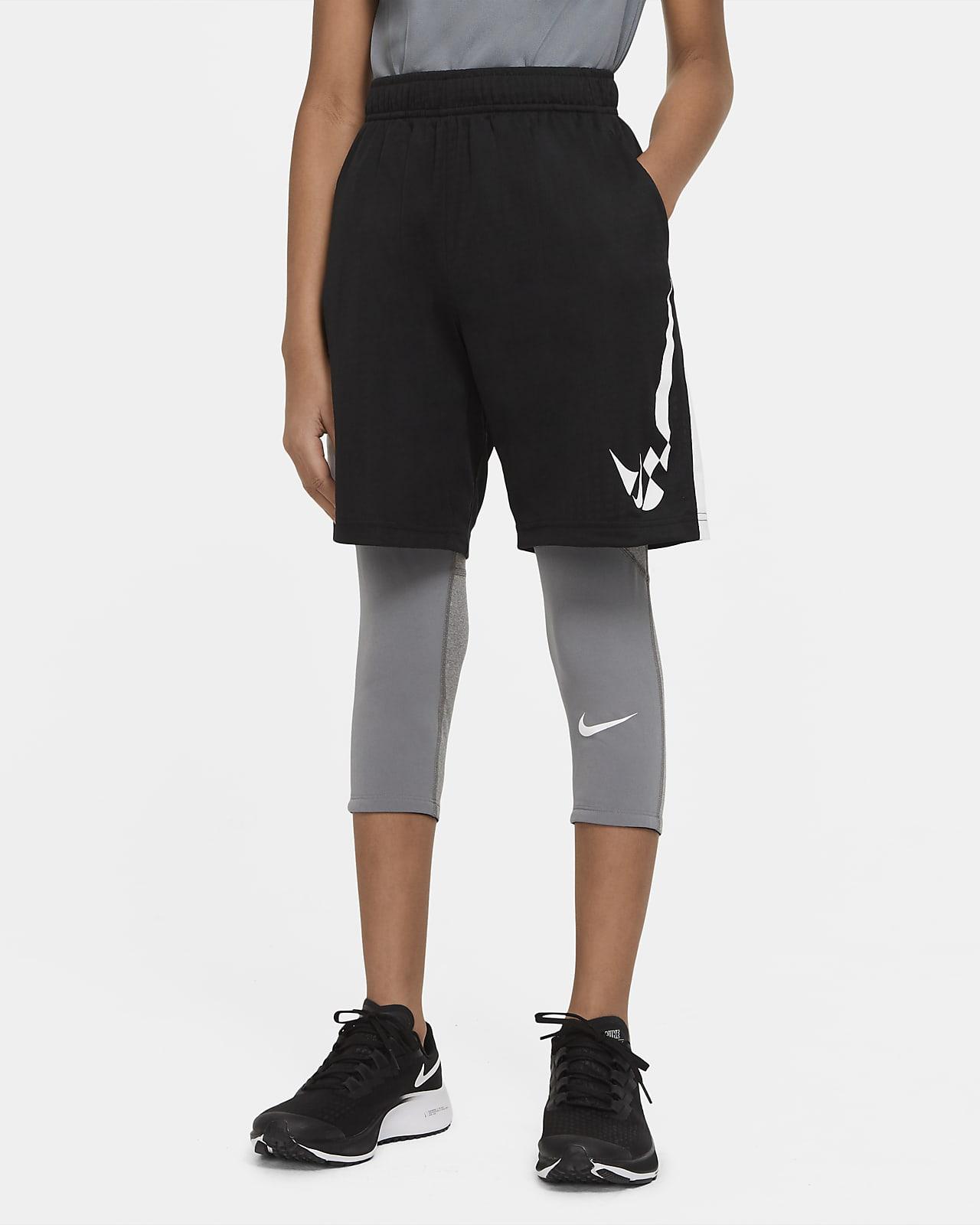 Mallas de 3/4 para niño talla grande Nike Pro