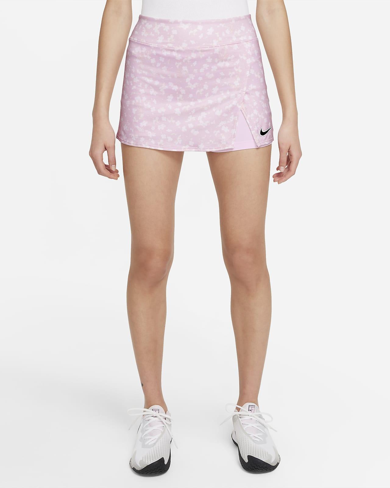 NikeCourt Dri-FIT Victory 女款印花網球裙