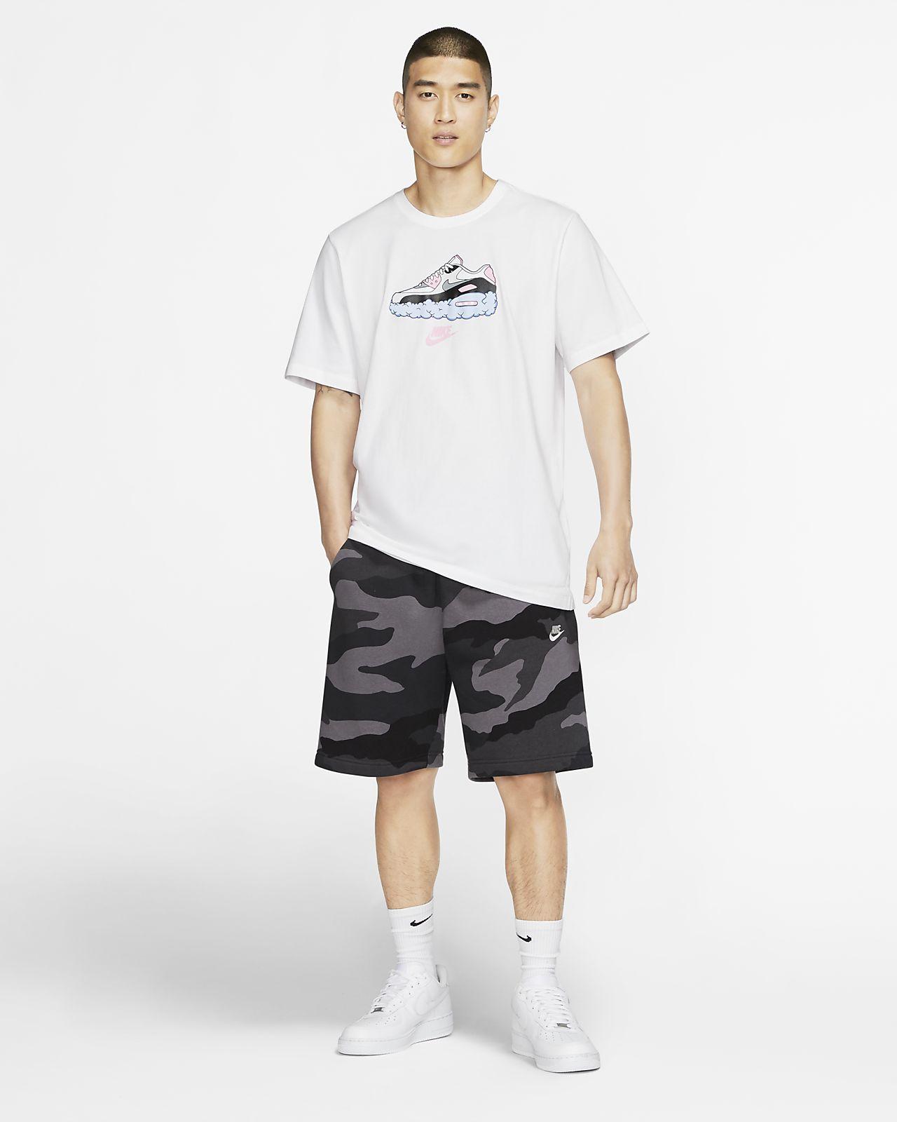 Nike Air Max Men's Shorts Black price from nike in Saudi