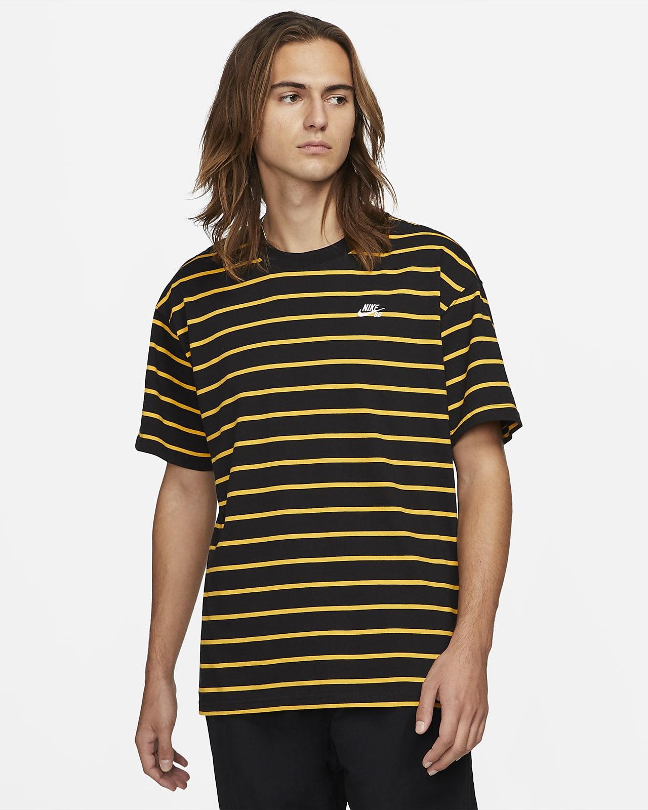 Tee-shirt de skateboard à rayures Nike SB