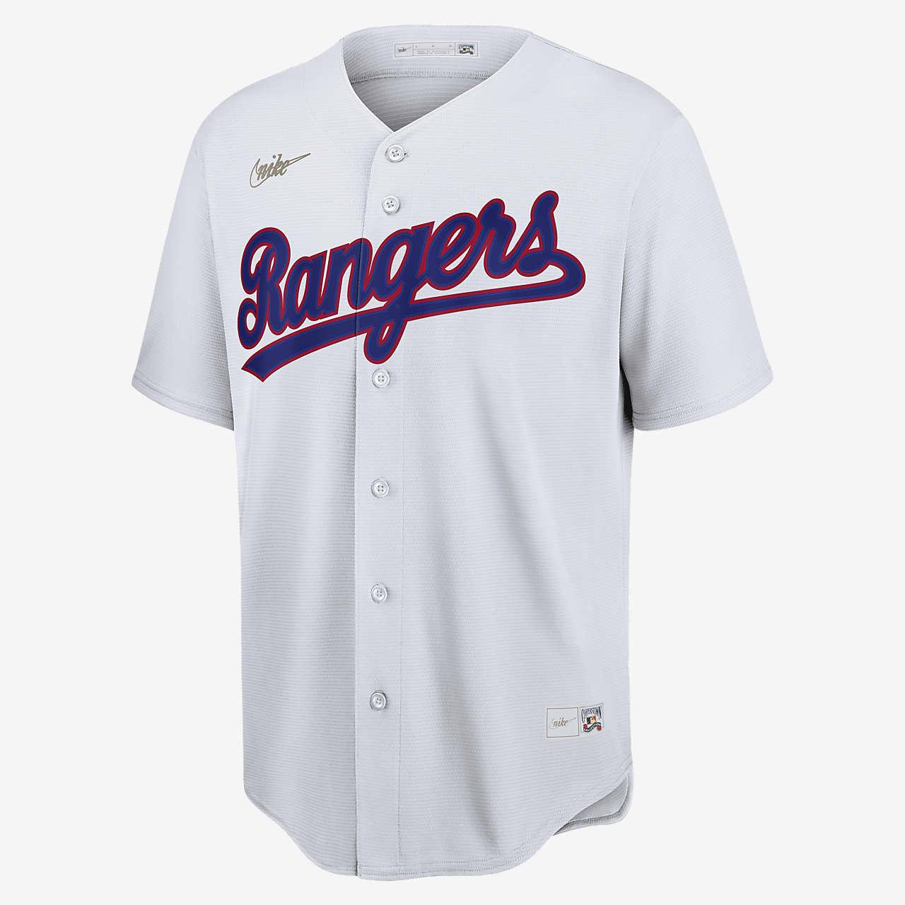 MLB Texas Rangers (Nolan Ryan) Men's Cooperstown Baseball Jersey