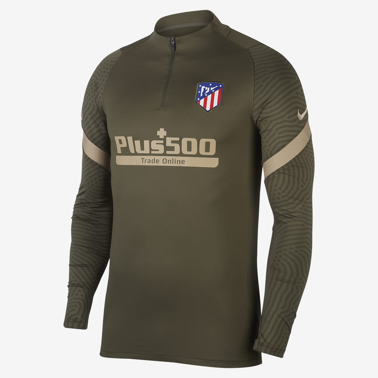 Atlético de Madrid Strike Men's Football Drill Top