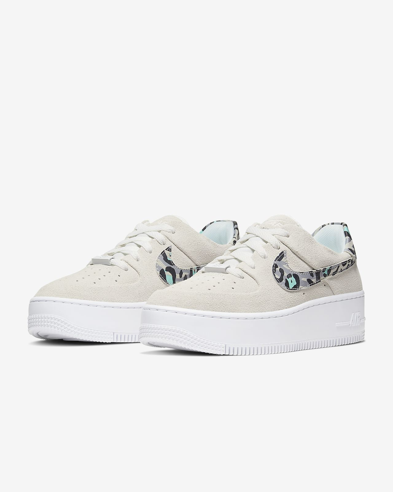 air force 1 mujer leopardo