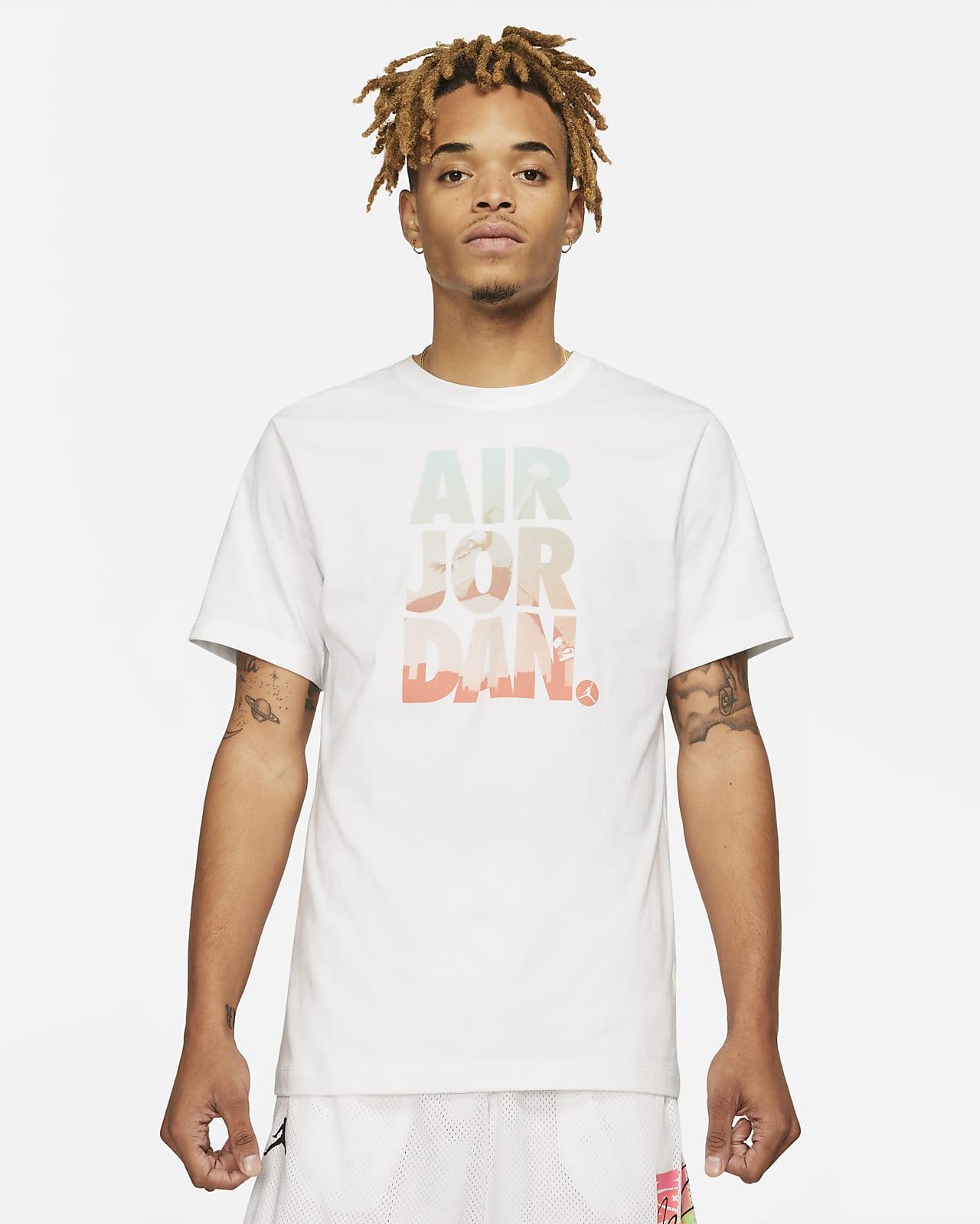 เสื้อยืดกราฟิกแขนสั้นผู้ชาย Jordan Jumpman Classics