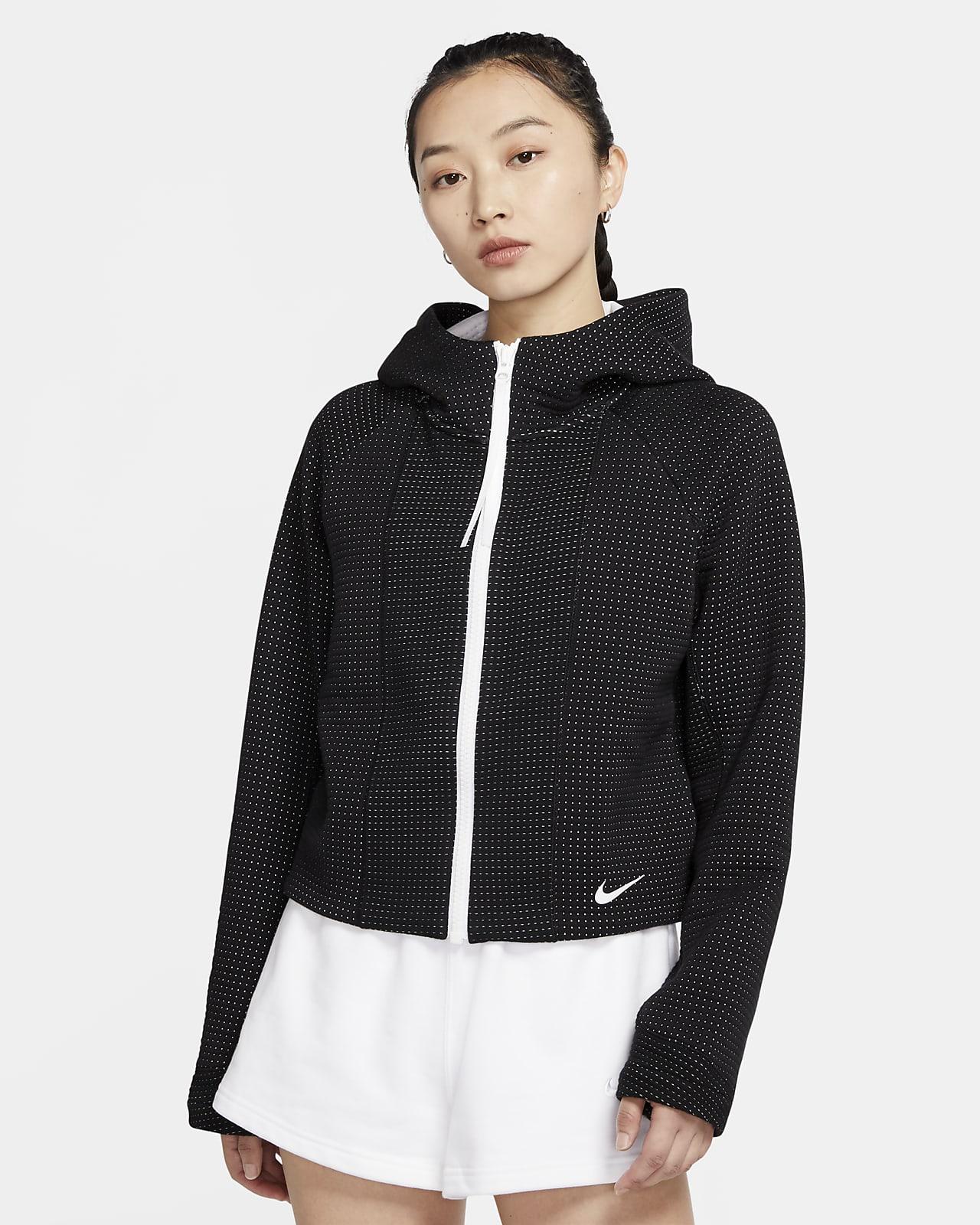 Nike Sportswear Tech Fleece speziell entwickelter Damen-Hoodie mit durchgehendem Reißverschluss