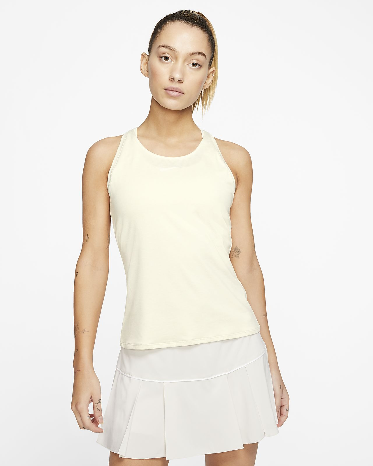 NikeCourt Dri FIT Tennis Tanktop für Damen