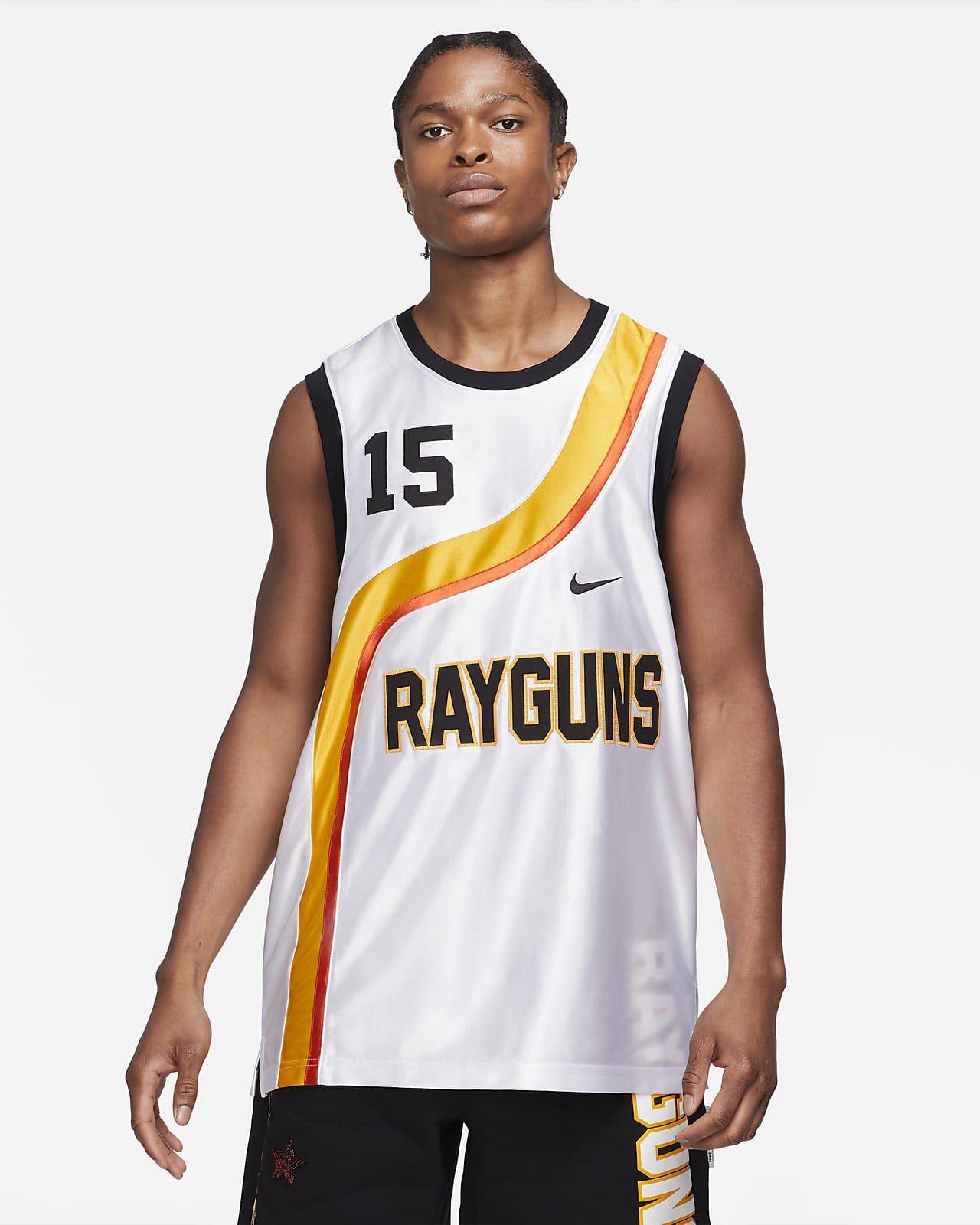 Maillot de basketball premium Nike Rayguns pour Homme