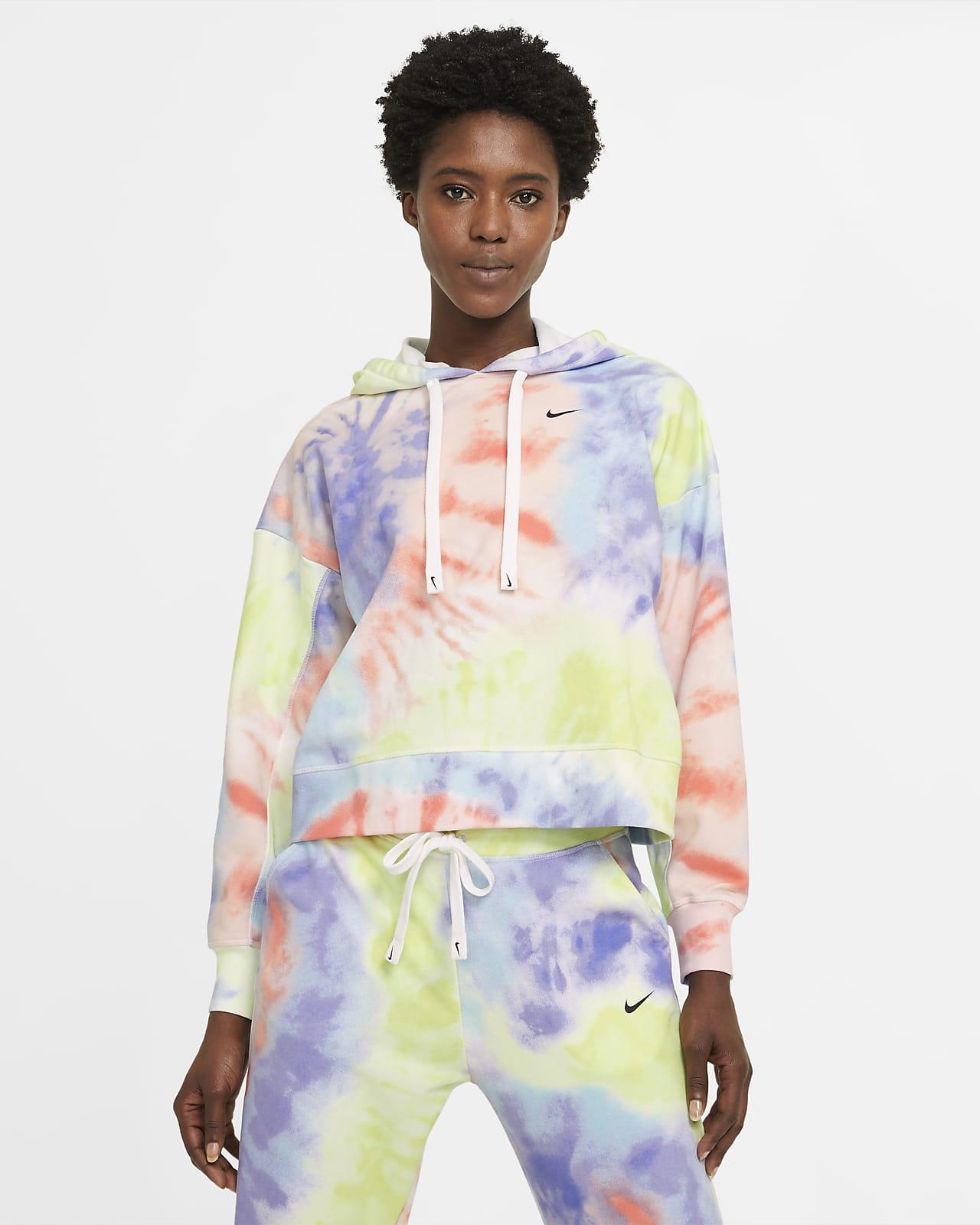 Nike Dri-FIT Get Fit Women's Tie-dye Pullover Training Hoodie
