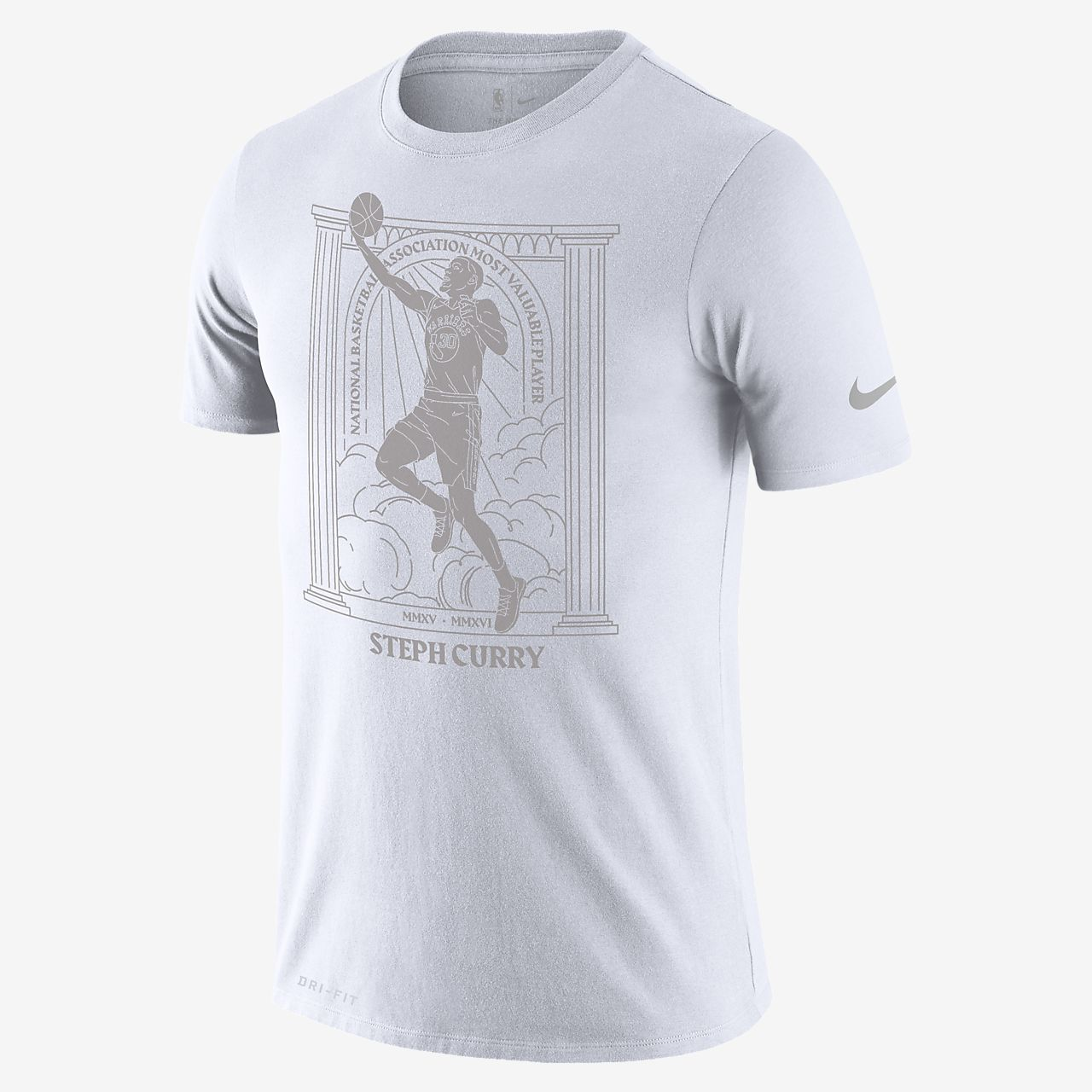 Stephen Curry Warriors MVP Men's Nike Dri-FIT NBA T-Shirt