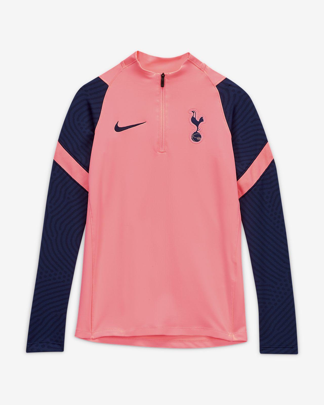 Prenda para la parte superior de entrenamiento de fútbol para niños talla grande Tottenham Hotspur Strike