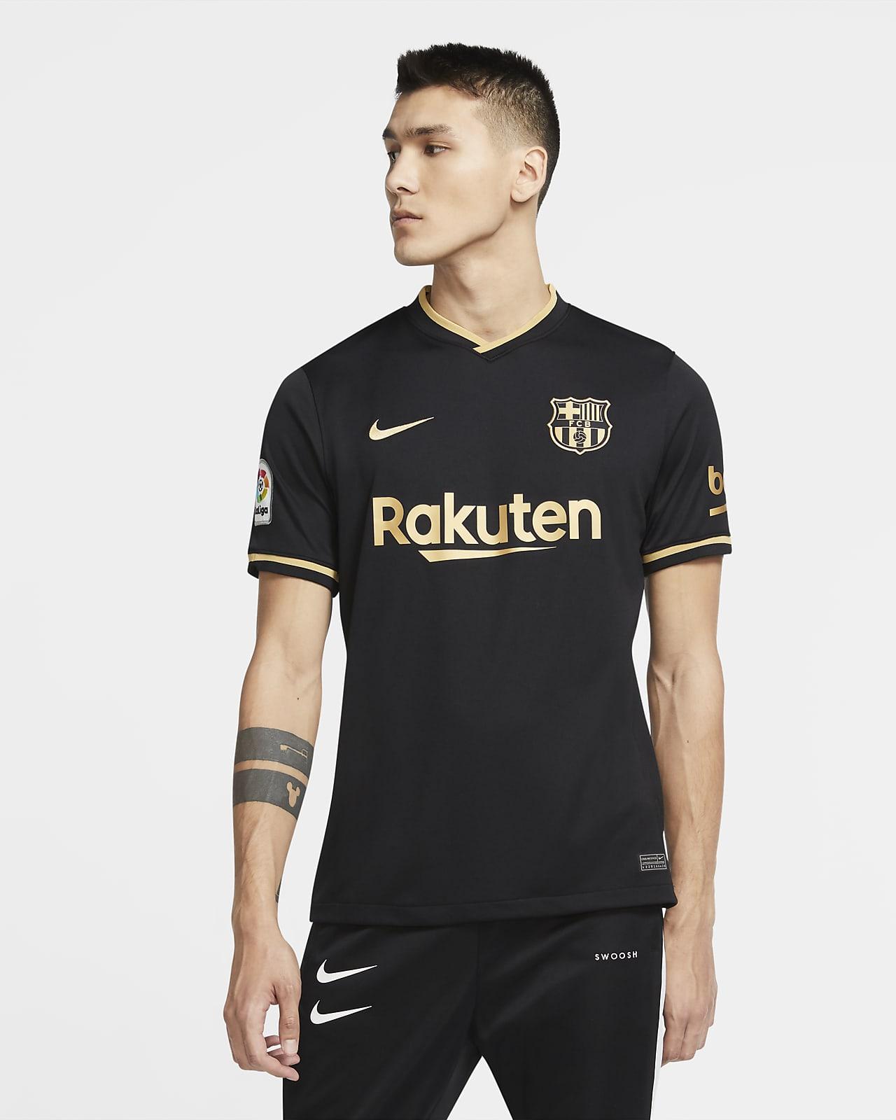 F.C. Barcelona 2020/21 Stadium Away Men's Football Shirt