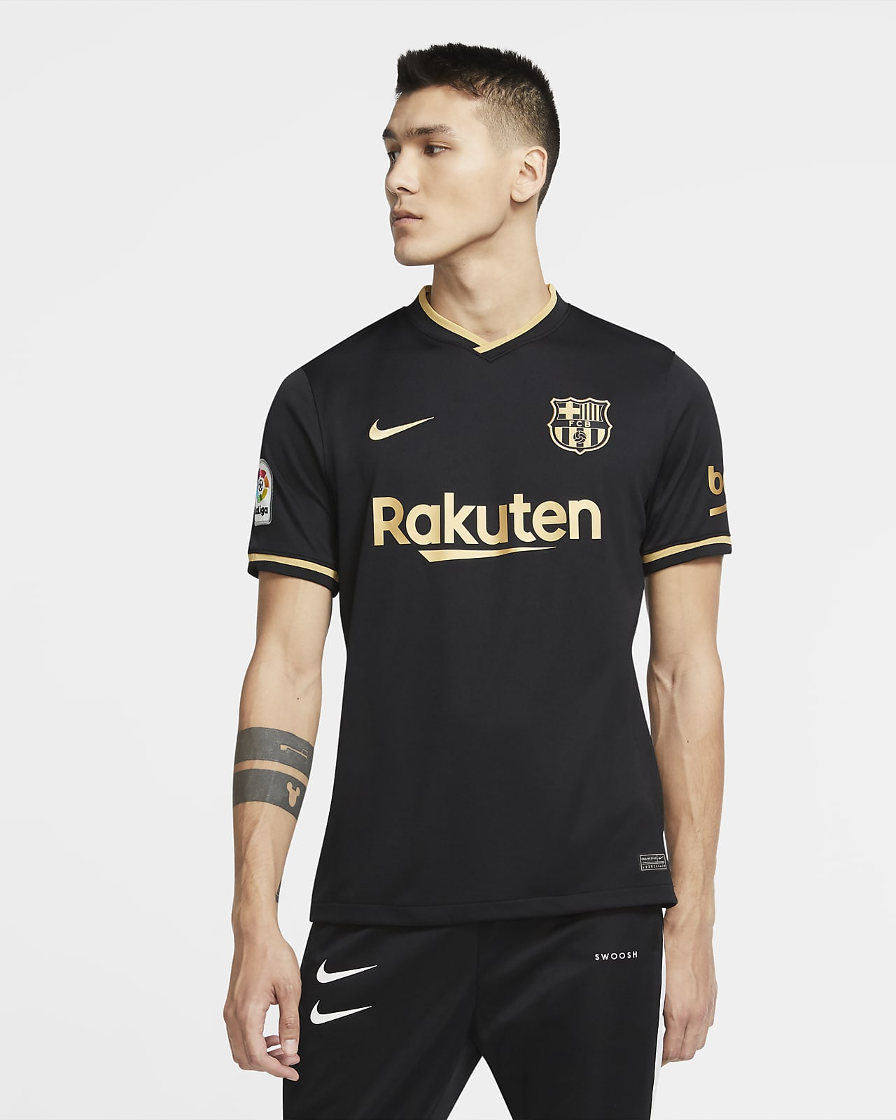 FC Barcelona 2020/21 Stadium Away Herren-Fußballtrikot