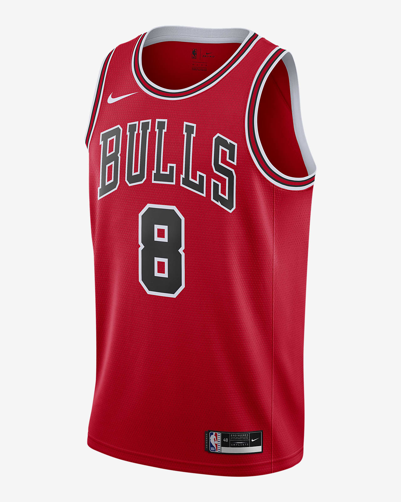 Zach LaVine Bulls Icon Edition 2020 Nike NBA Swingman Jersey
