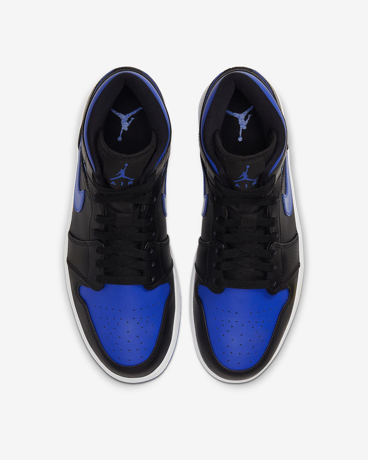 Exklusiv Nike Skor Män SvartVit Air Jordan 1 Retro Low OG