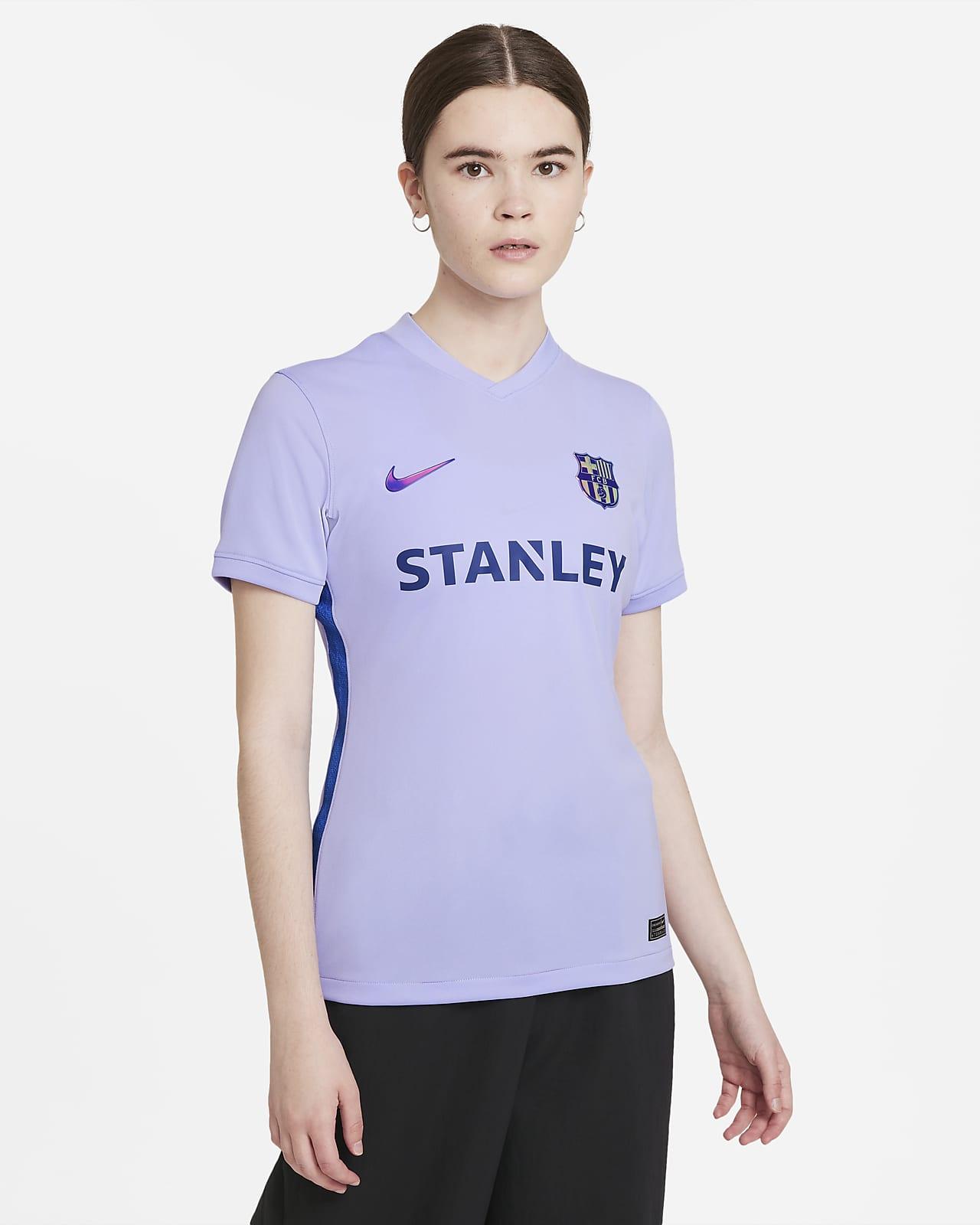 FC Barcelona 2021/22 Stadium Away Nike Dri-FIT Fußballtrikot für Damen