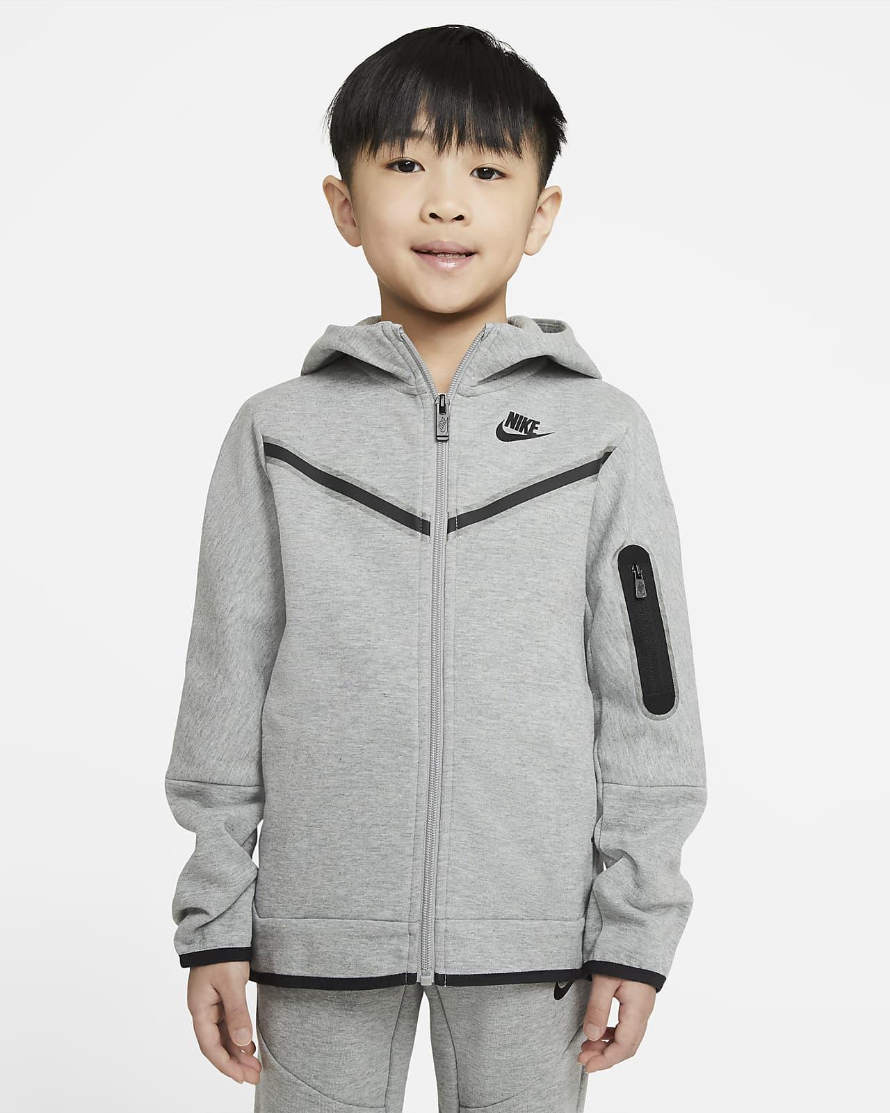 Nike Sportswear Tech Fleece Sudadera con capucha y cremallera completa - Niño/a pequeño/a