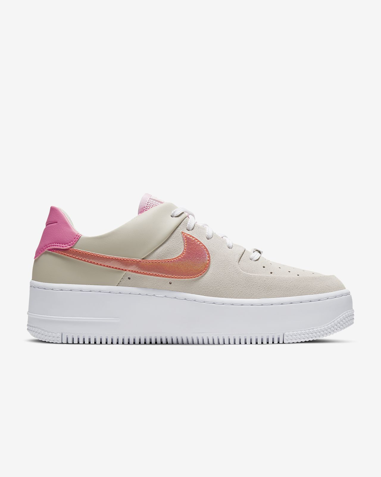 nike air force 1 femme rose crimson