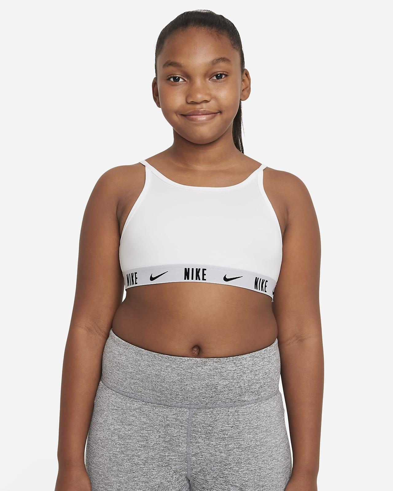 Nike Trophy Older Kids' (Girls') Bra (Extended Size)