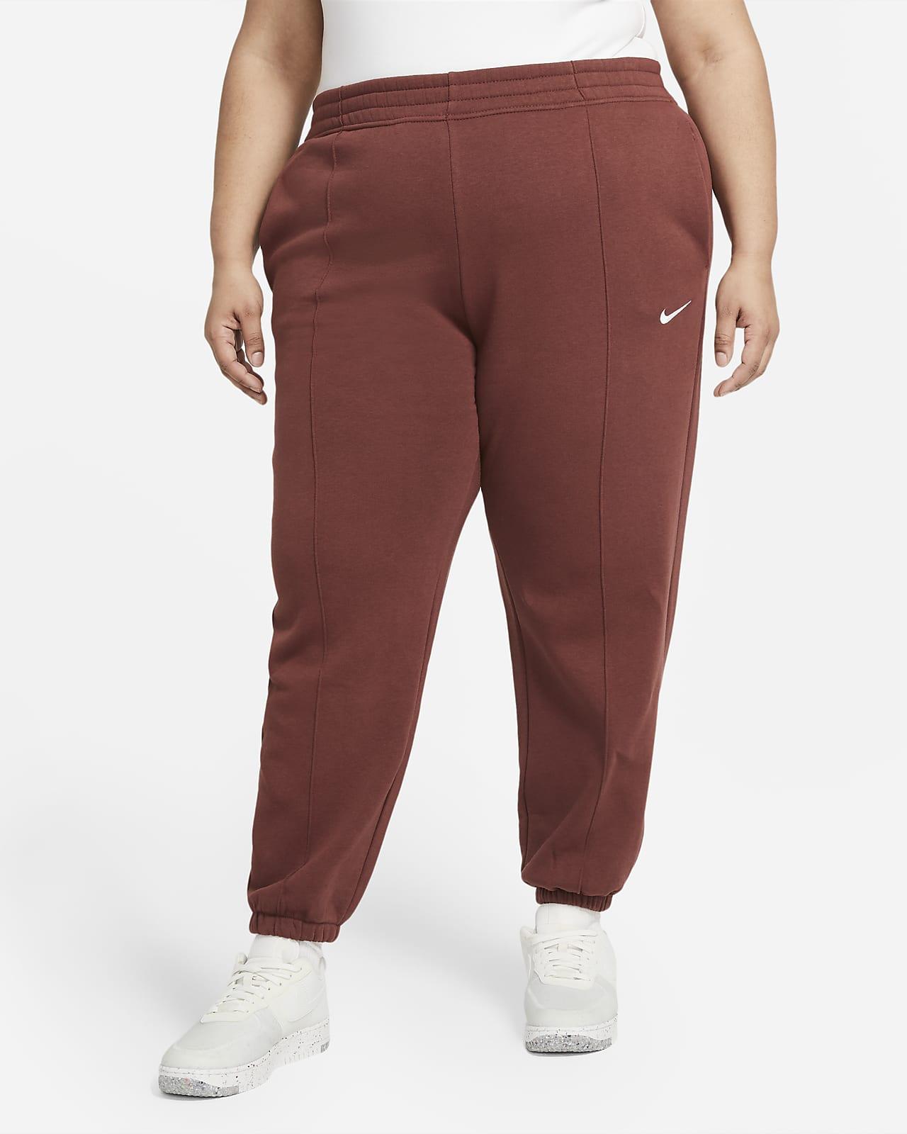 Pantalones de tejido Fleece para mujer talla grande Nike Sportswear Trend