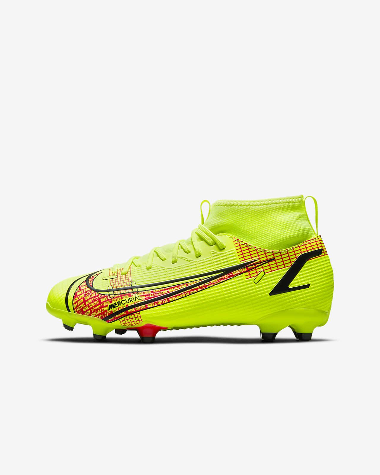 Nike Jr. Mercurial Superfly 8 Academy MG Fußballschuh für verschiedene Böden für jüngere/ältere Kinder