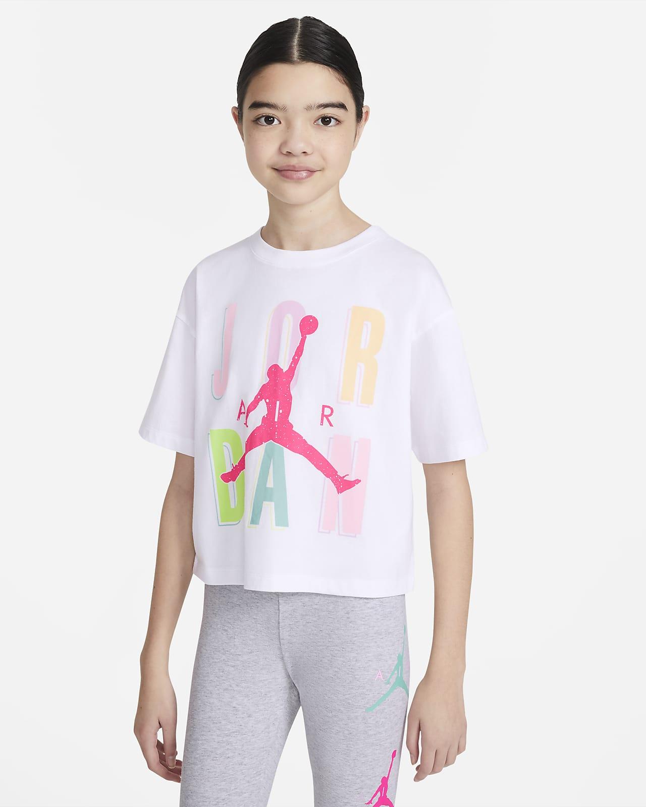 Jordan póló nagyobb gyerekeknek (lányoknak)