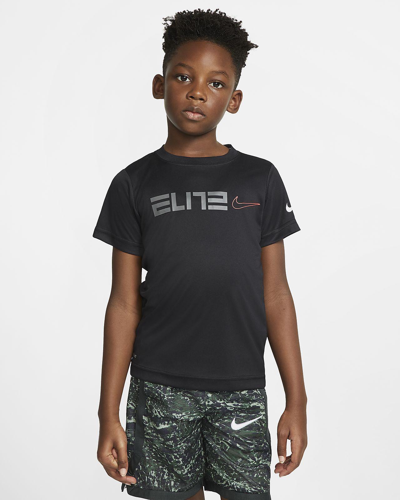 Nike Dri-FIT Elite Little Kids' Short-Sleeve T-Shirt