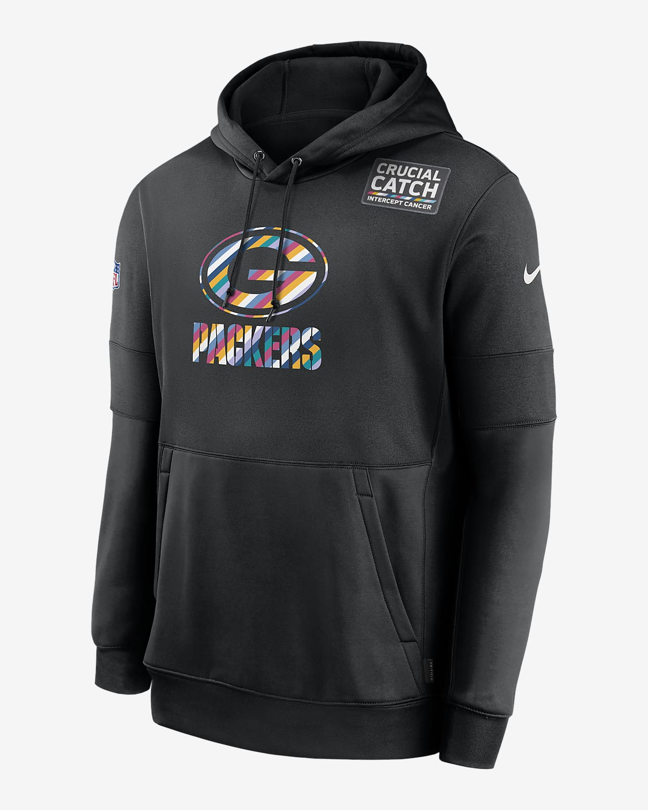 Nike Therma Crucial Catch (NFL Packers) Men's Hoodie