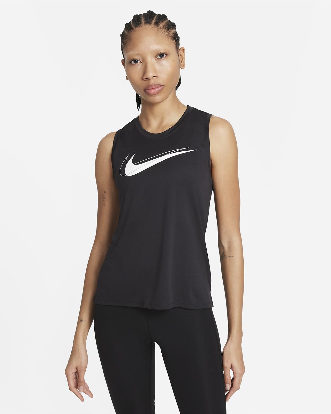 Γυναικείο φανελάκι για τρέξιμο Nike Dri-FIT Swoosh Run