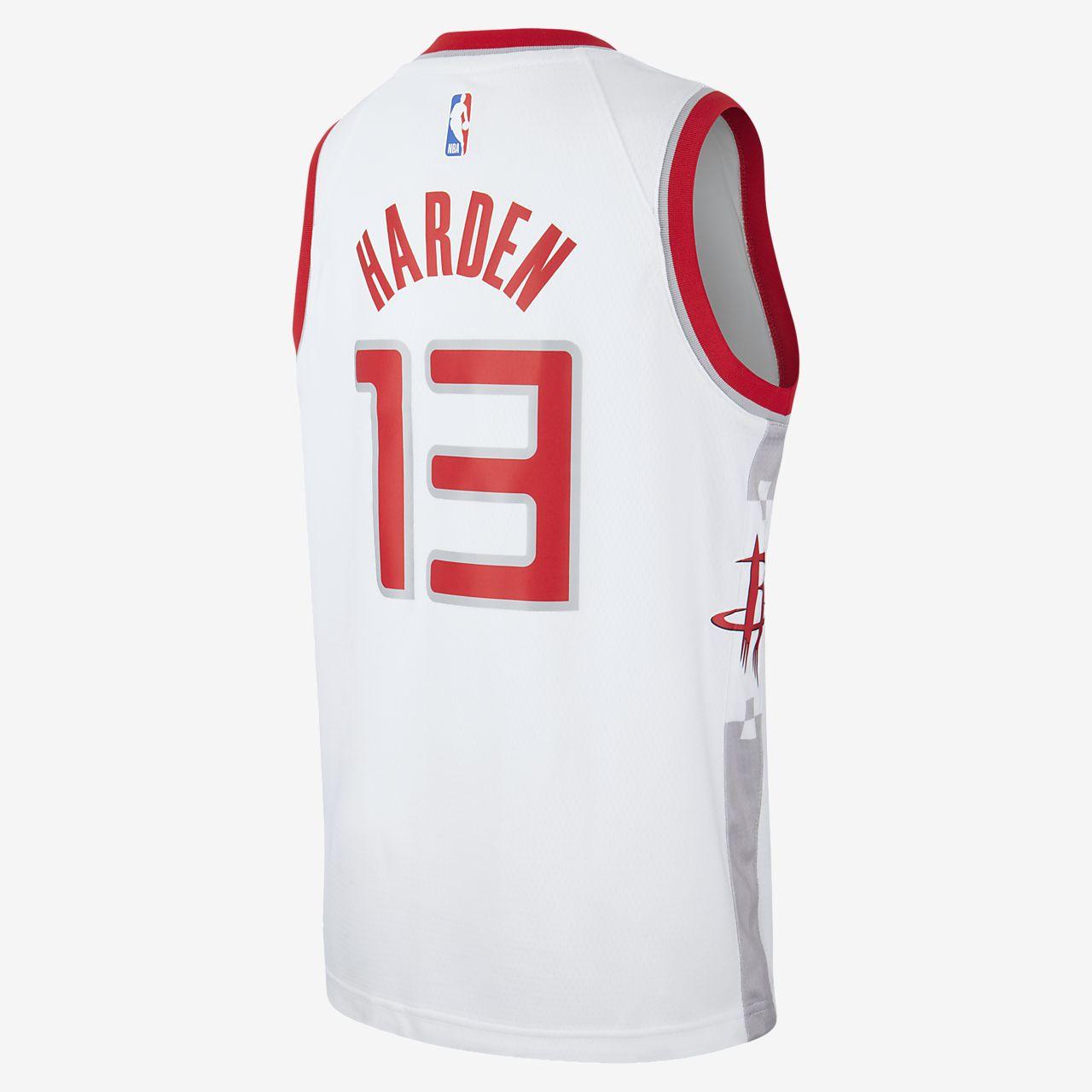 Maillot Nike NBA Swingman Rockets City Edition pour Enfant plus âgé
