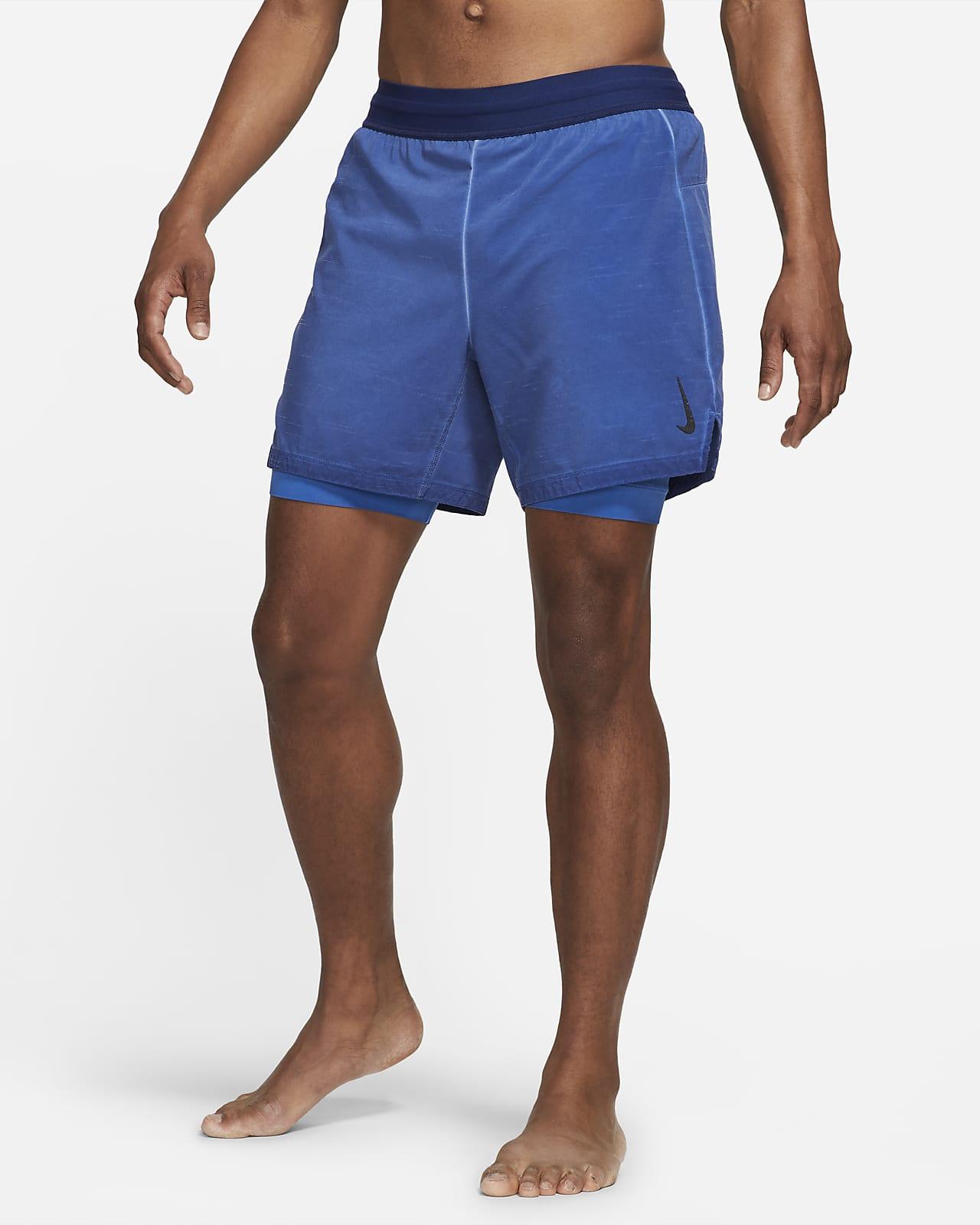 Shorts 2 en 1 para hombre Nike Yoga Dri-FIT