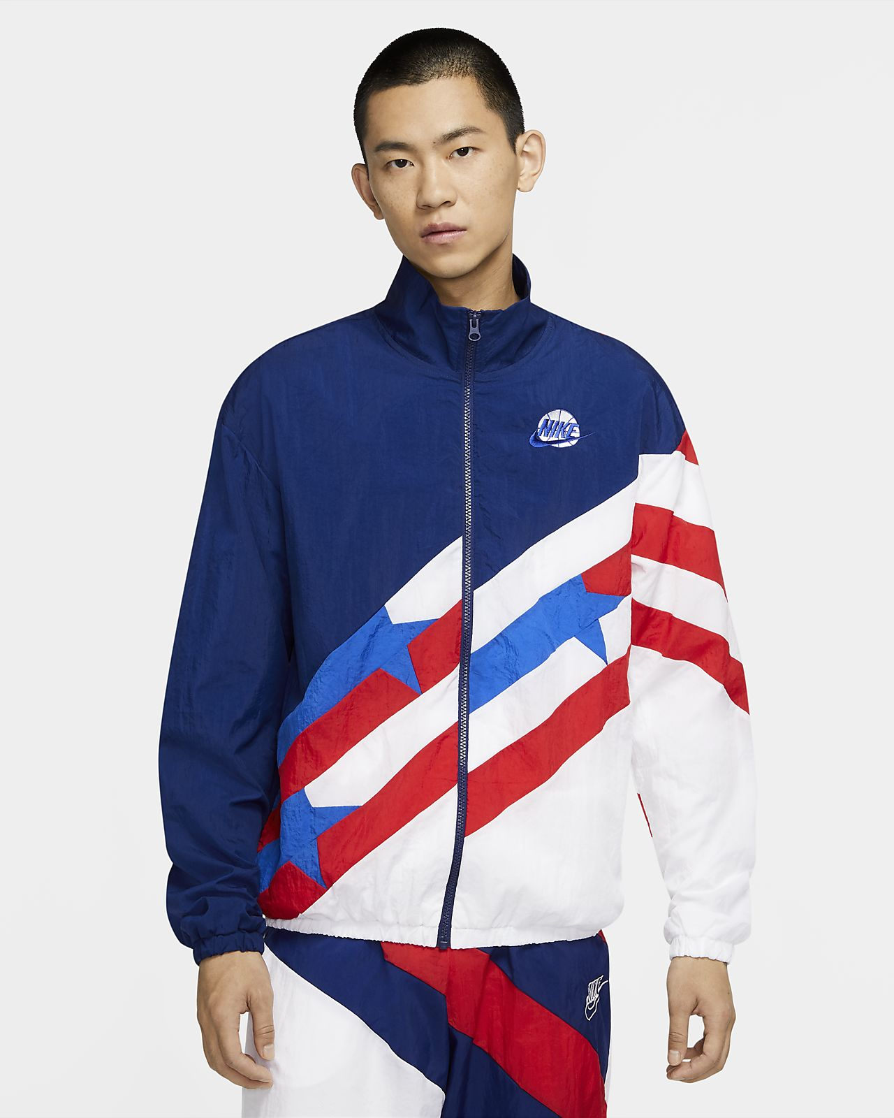 Nike Throwback 男款籃球運動服外套