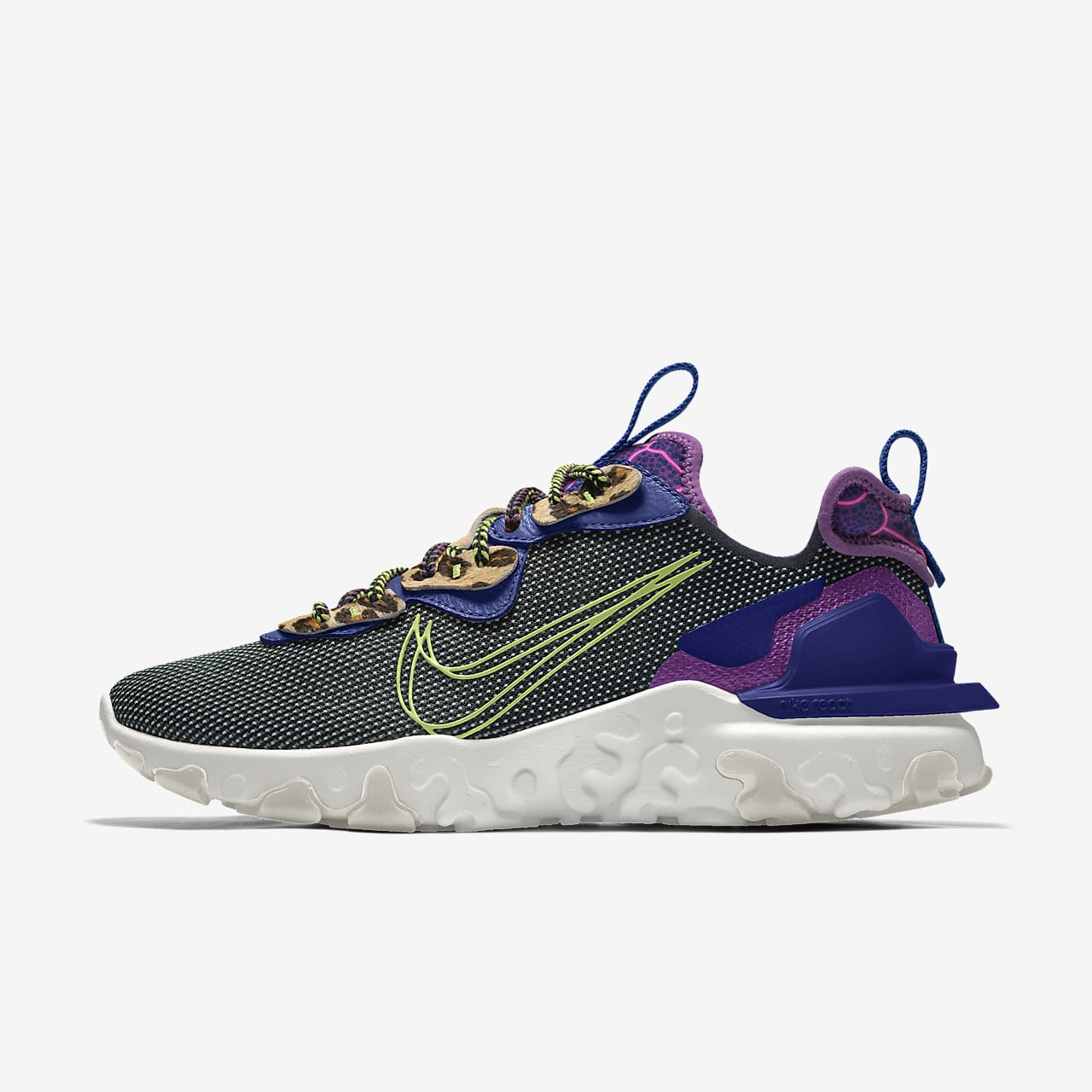 Scarpa lifestyle personalizzabile Nike React Vision By You - Donna