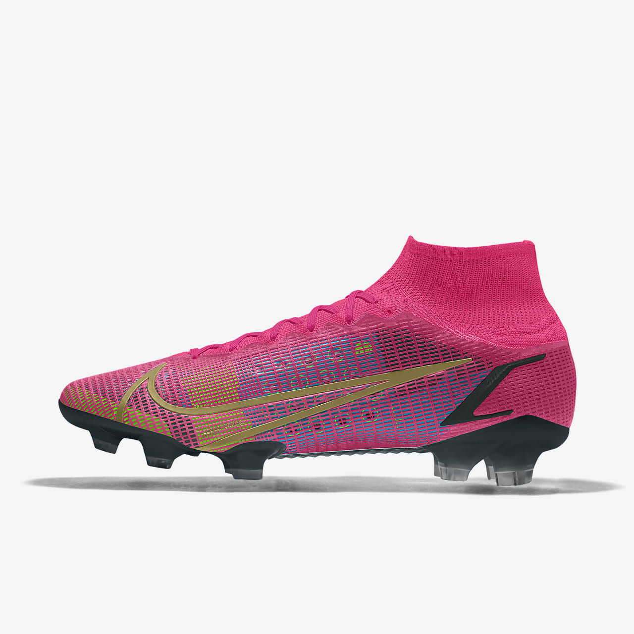 Specialdesignad fotbollssko Nike Mercurial Superfly 8 Elite By You