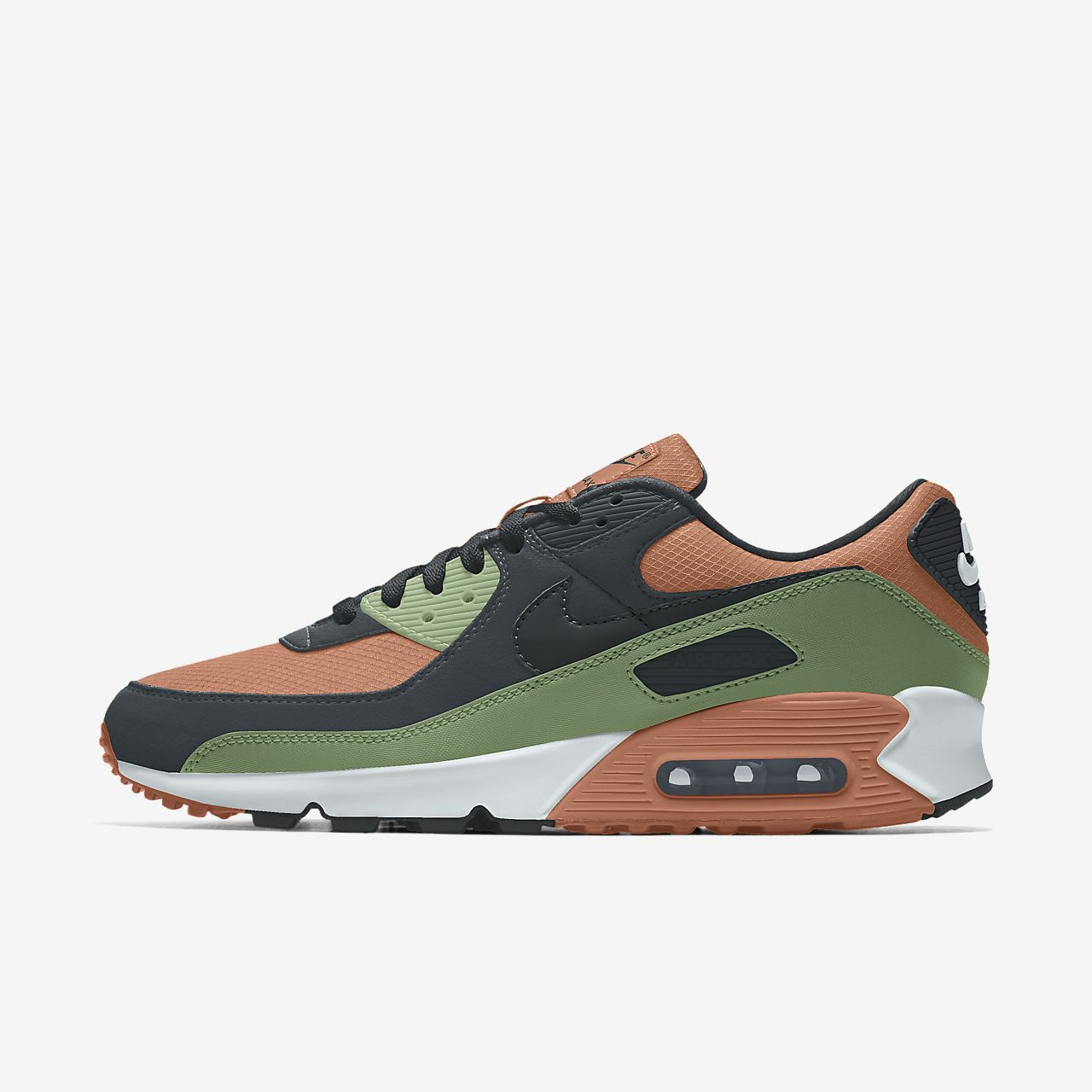 Nike Air Max 90 Unlocked By You Custom lifestyleschoen voor dames