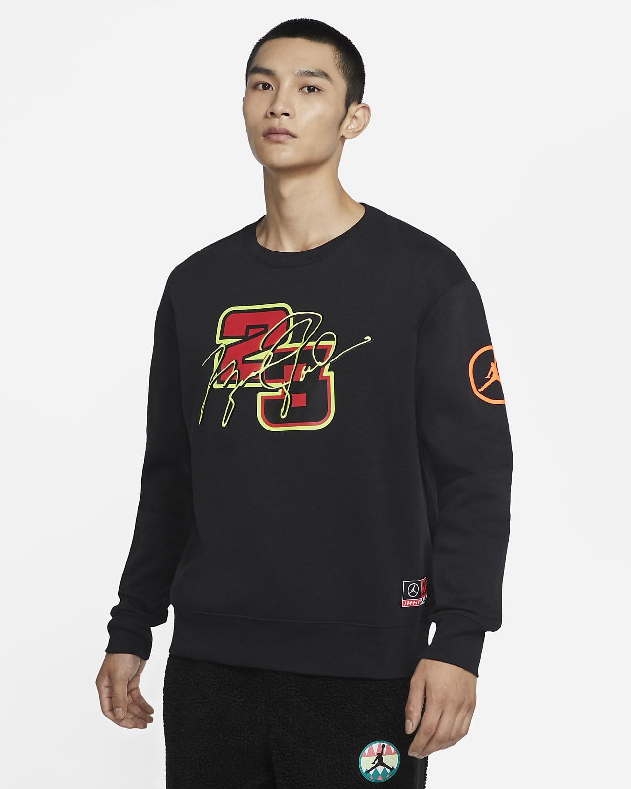 Jordan Sport DNA 男子起绒圆领运动衫