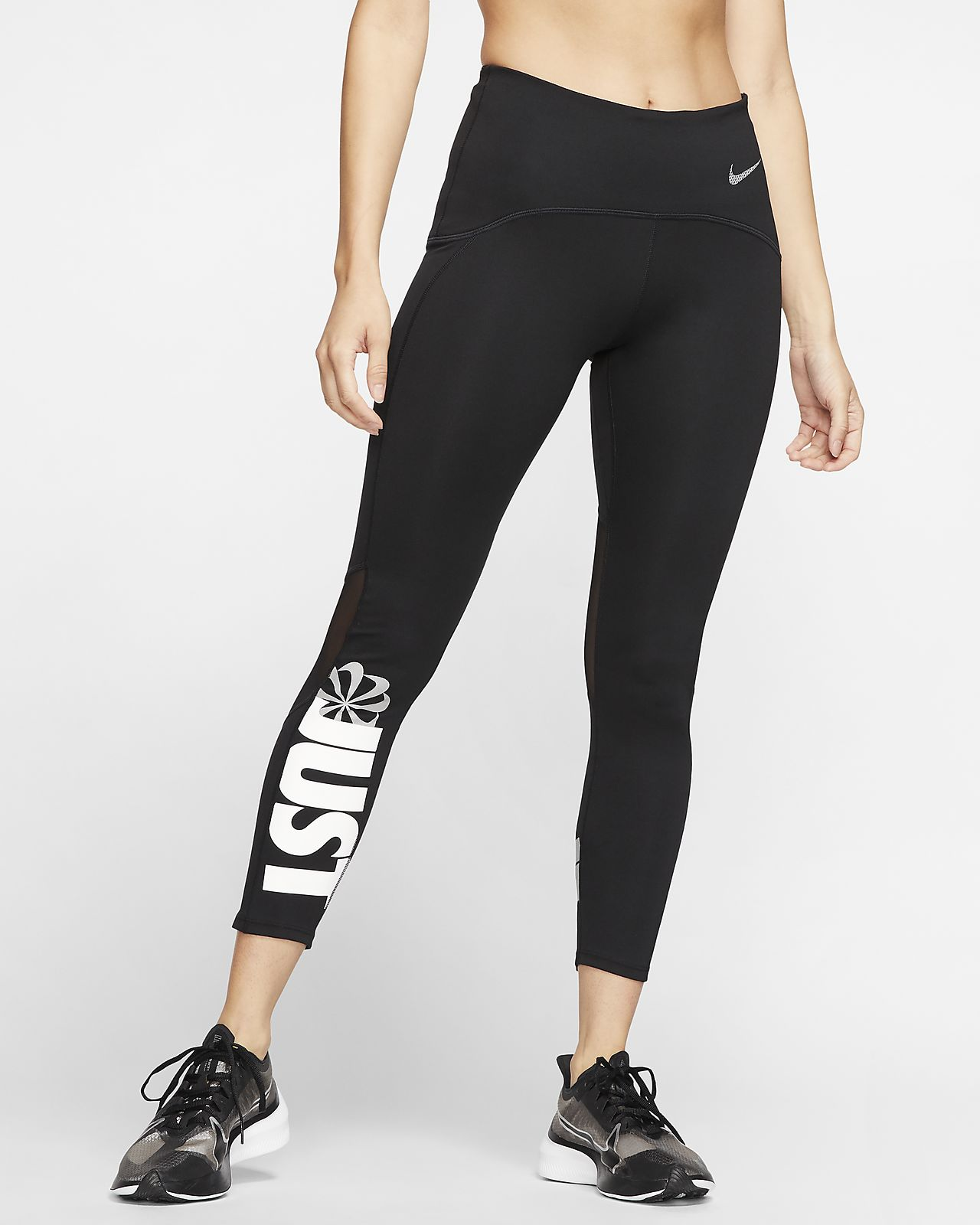 Tights de running a 7/8 Nike Speed Icon Clash para mulher