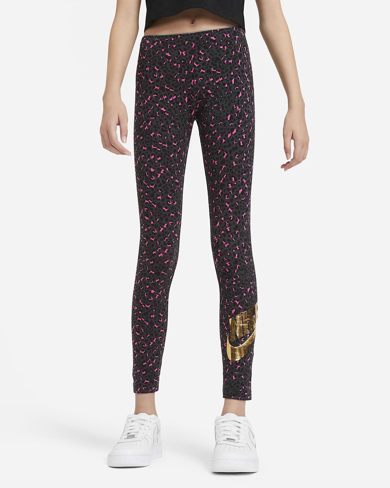 Nike Sportswear Leggings mit Print für ältere Kinder (Mädchen)