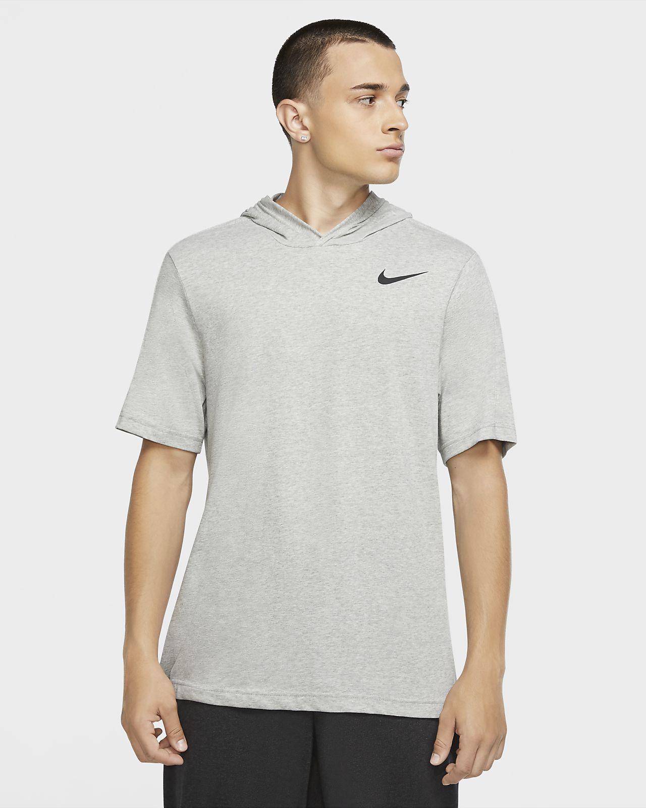 Nike Dri-FIT Men's Short-Sleeve Training Hoodie