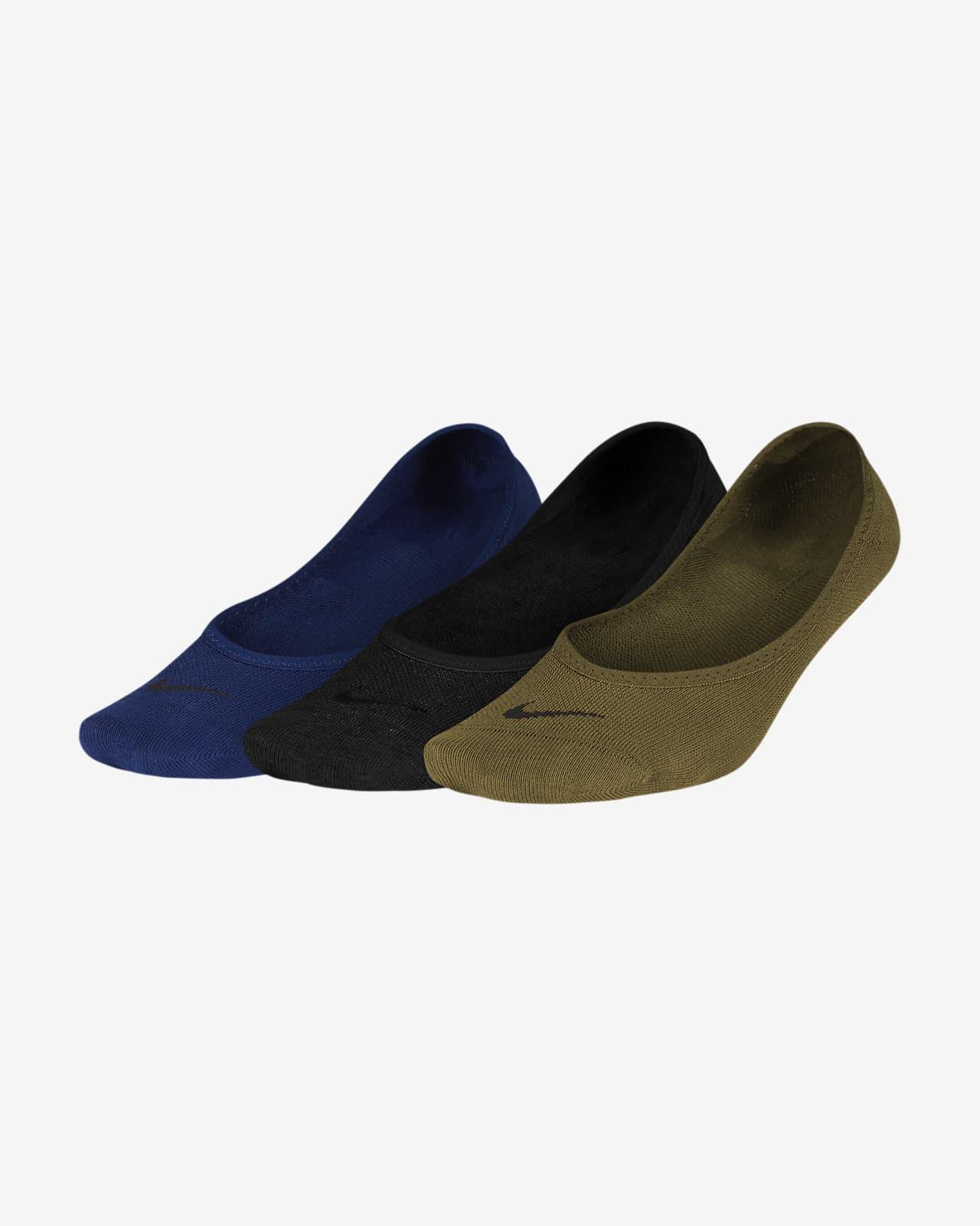 ถุงเท้าเทรนนิ่งผู้หญิงแบบซ่อน Nike Everyday Lightweight (3 คู่)