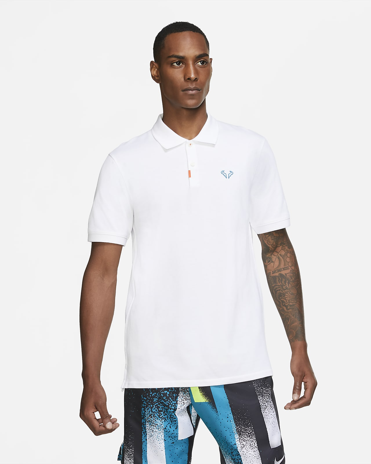 Polo Nike rafa mixte coupe slim