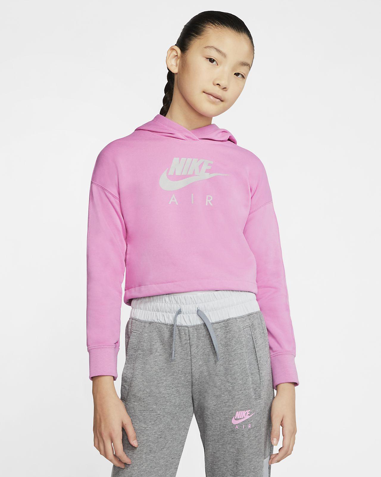Kort huvtröja Nike Air för ungdom (tjejer)