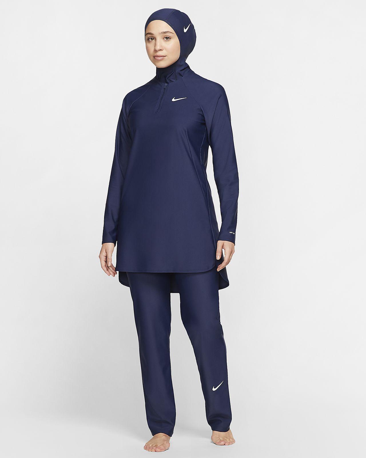 Nike Victory Women's Straight-Leg Full-Coverage Swimming Leggings