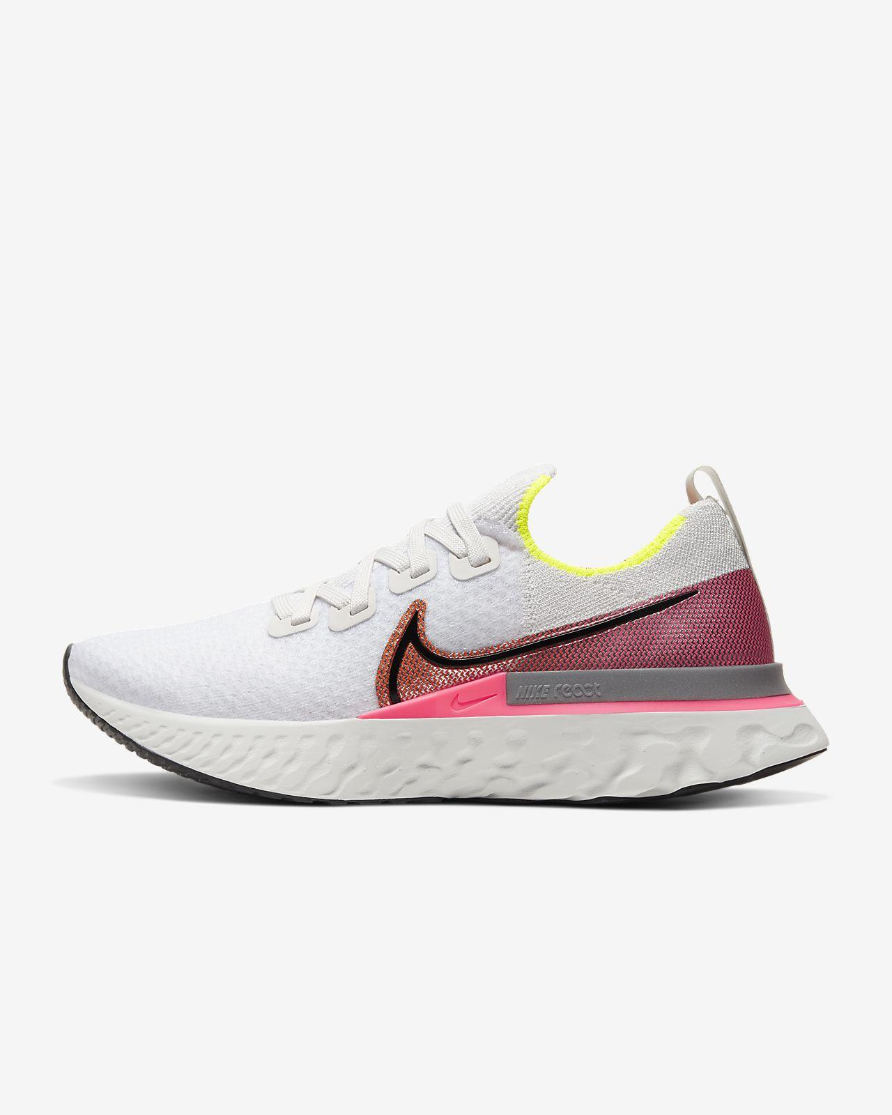 Calzado de running para mujer Nike React Infinity Run Flyknit