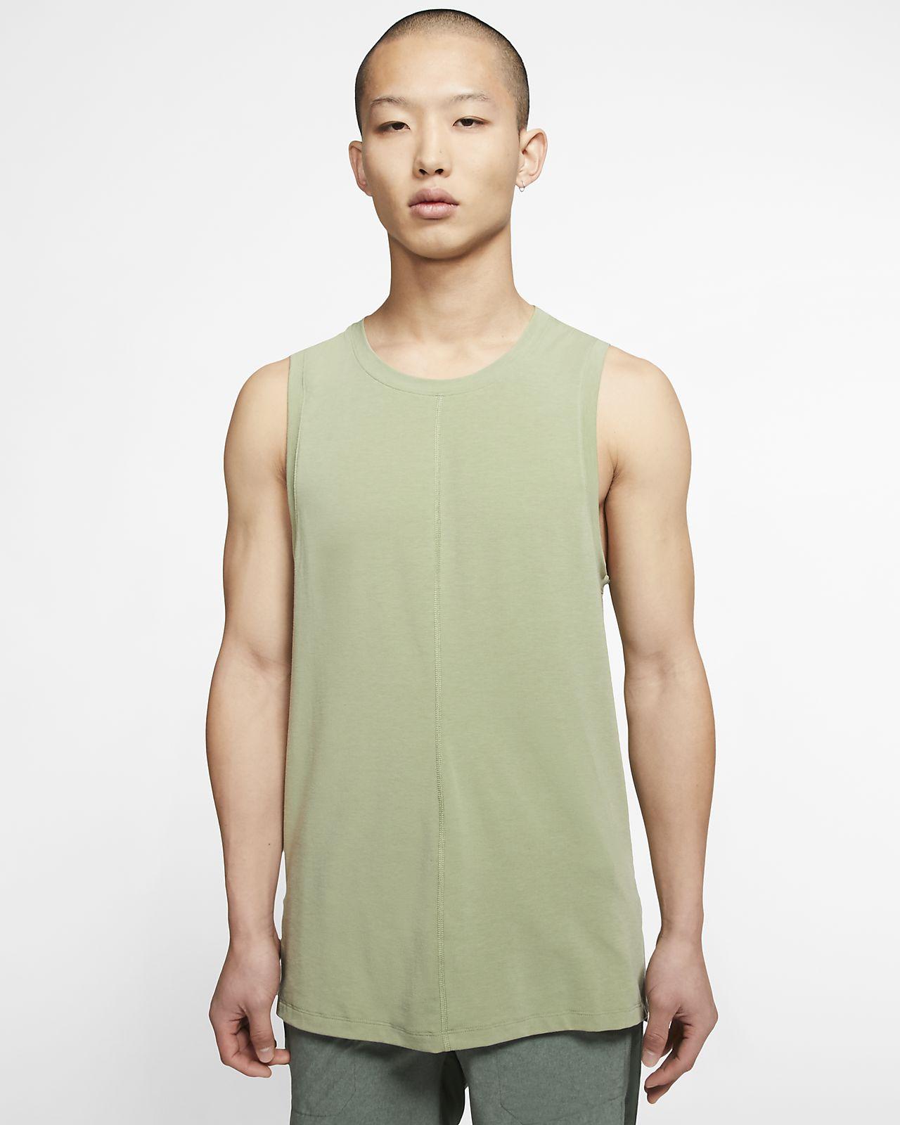 Nike Yoga 男款背心