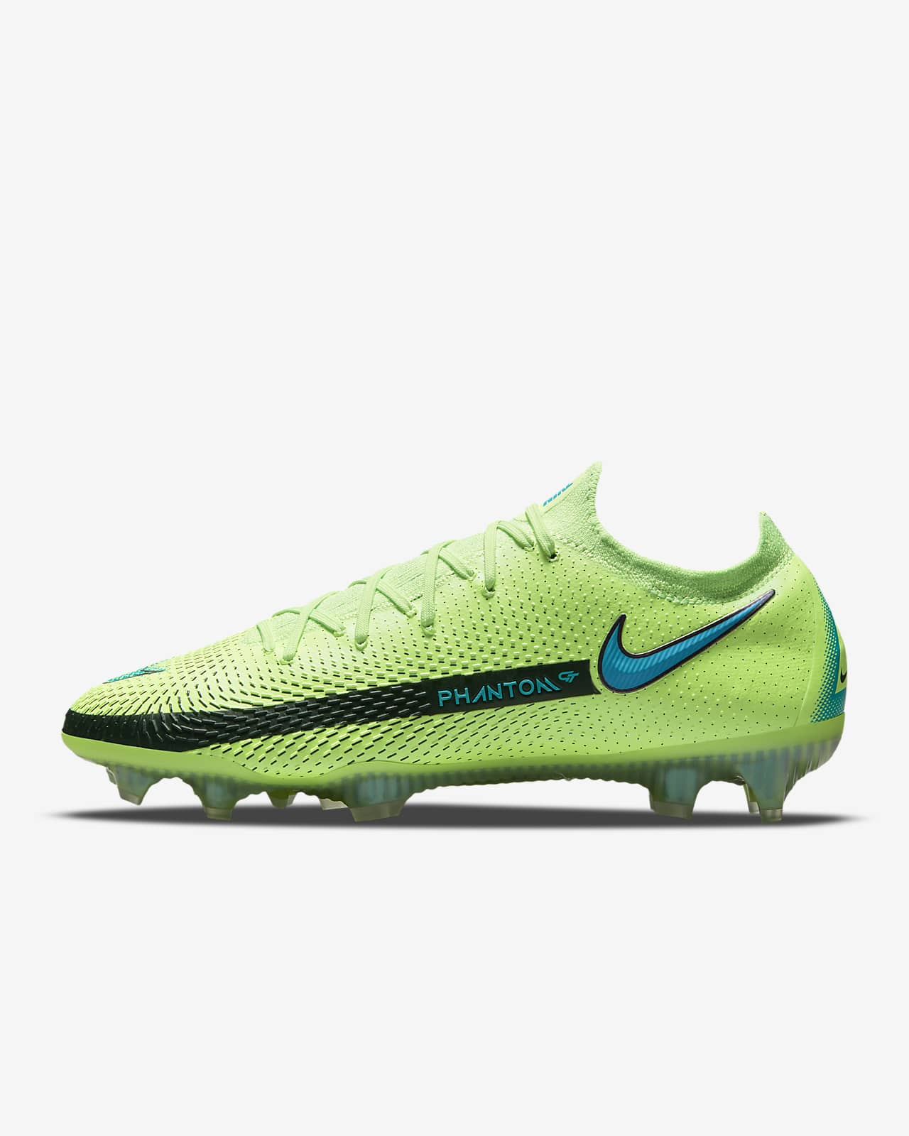 Ποδοσφαιρικό παπούτσι για σκληρές επιφάνειες Nike Phantom GT Elite FG