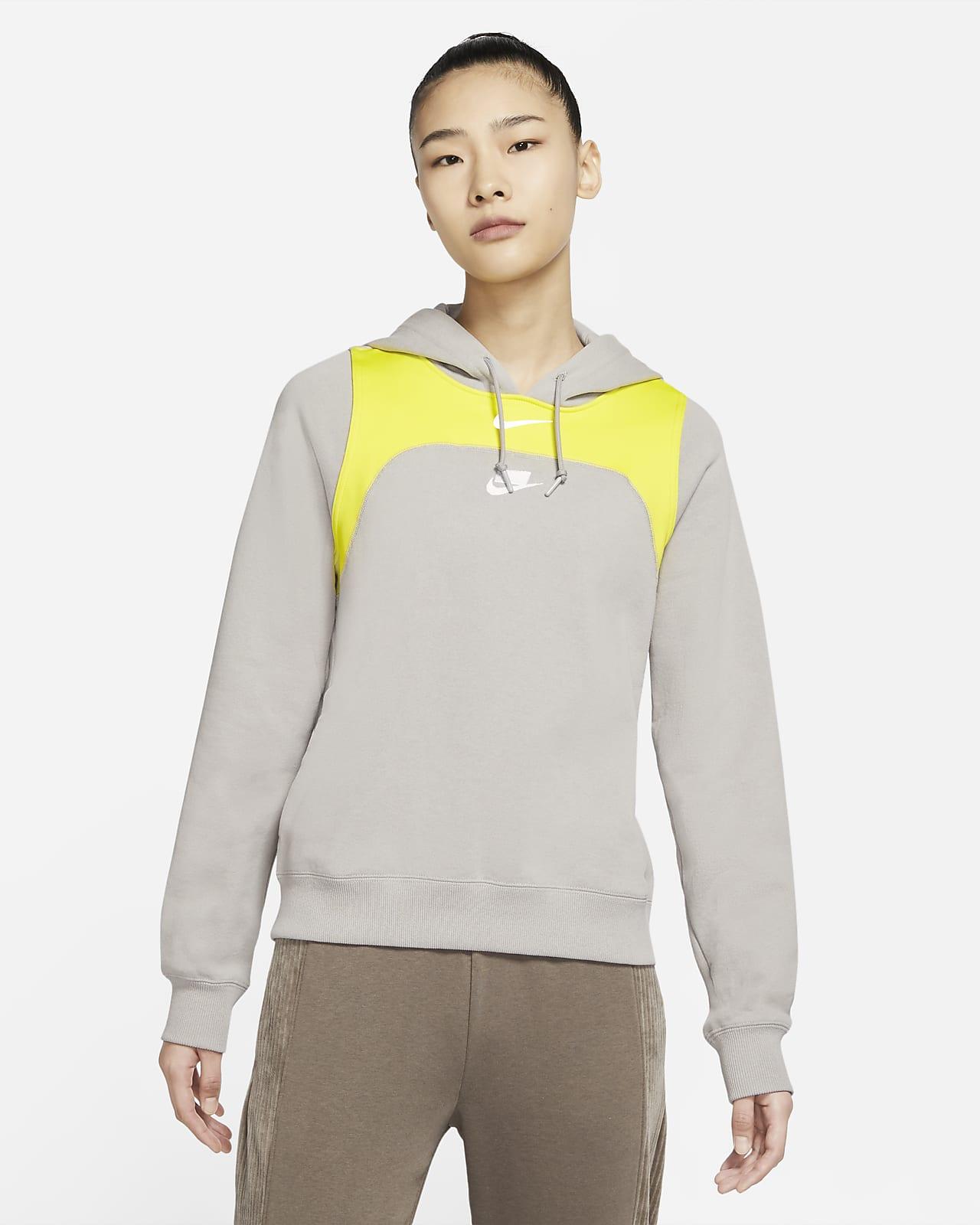 Sudadera con capucha de tejido Fleece para mujer Nike Sportswear NSW