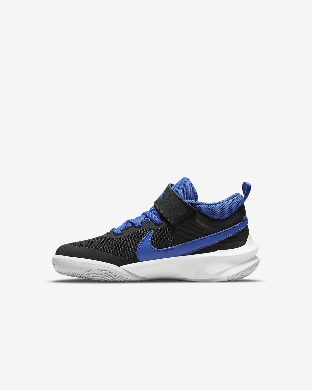 Calzado para niños talla pequeña Nike Team Hustle D 10