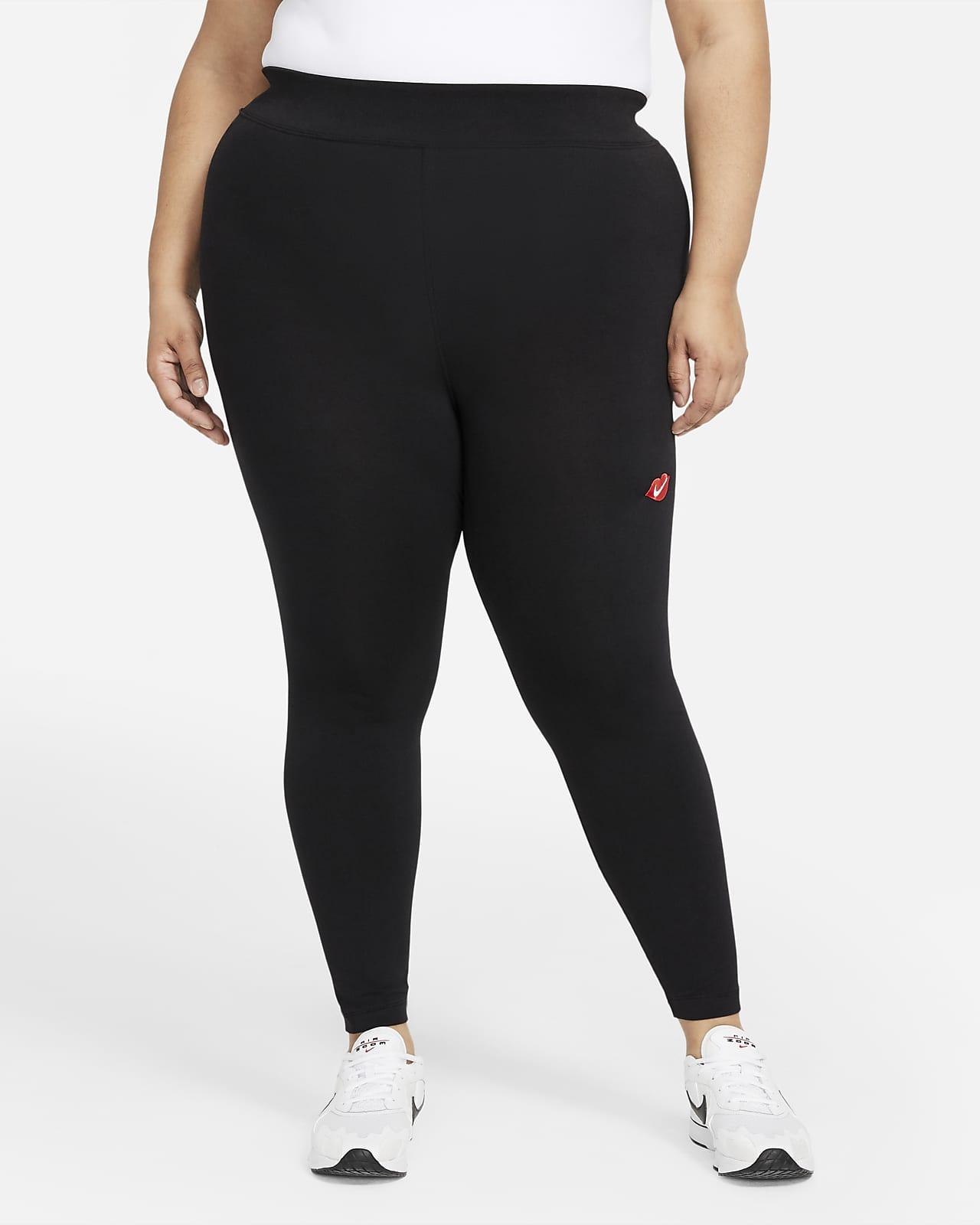 Nike Sportswear Essential Women's High-Rise Leggings (Plus Size)