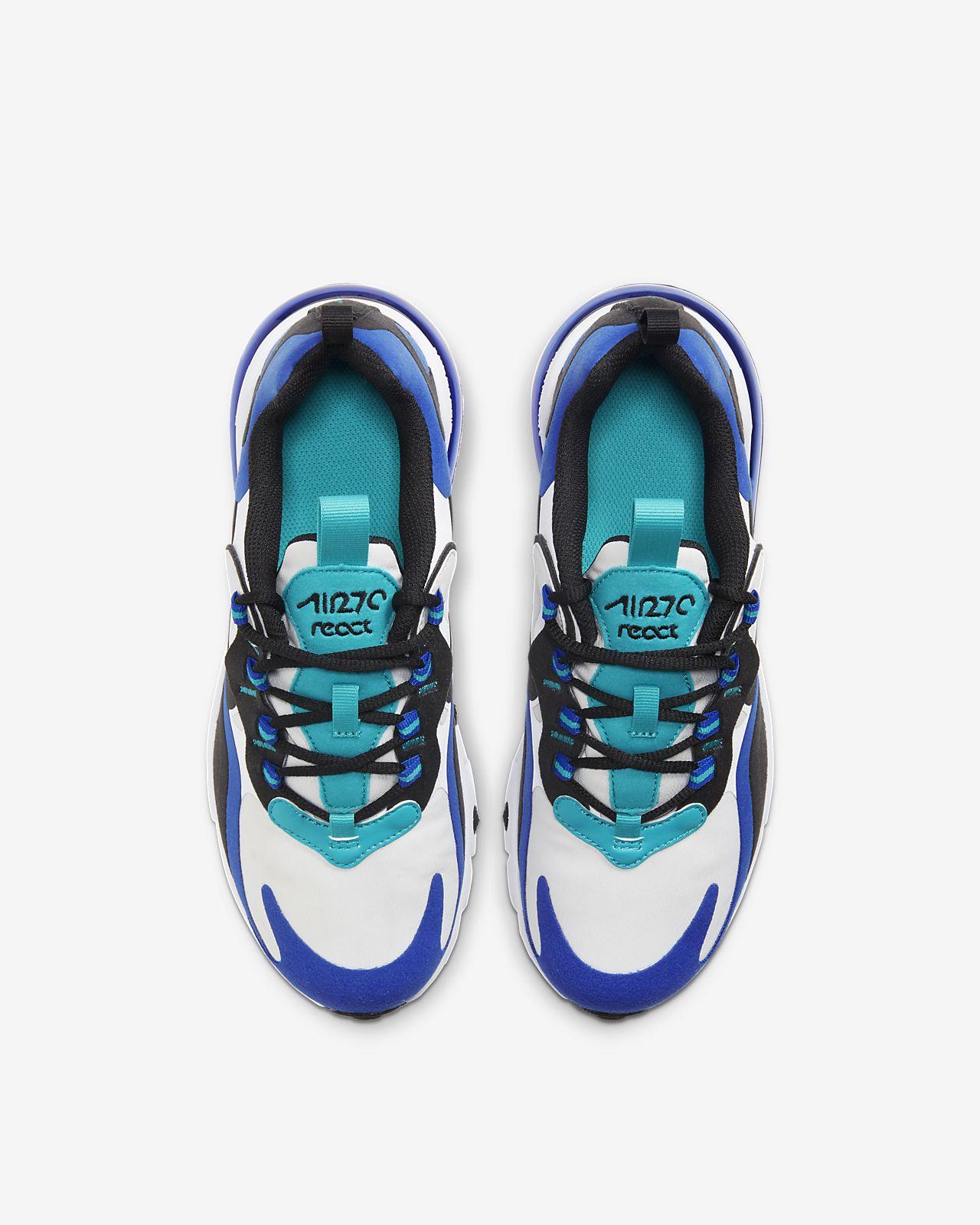 big kids' shoe nike air max 270 react