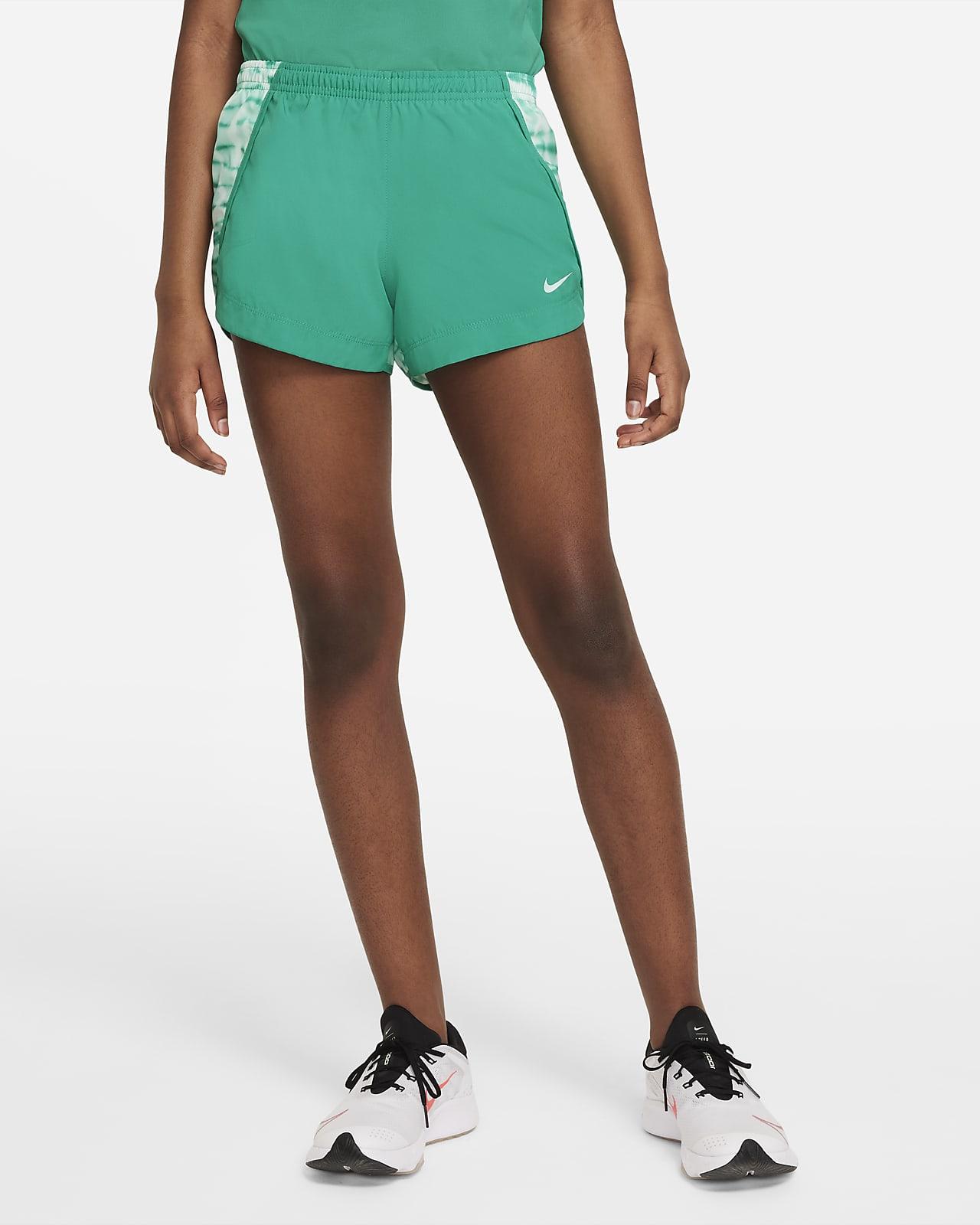 Nike Dri-FIT Sprinter Baskılı Genç Çocuk (Kız) Koşu Şortu